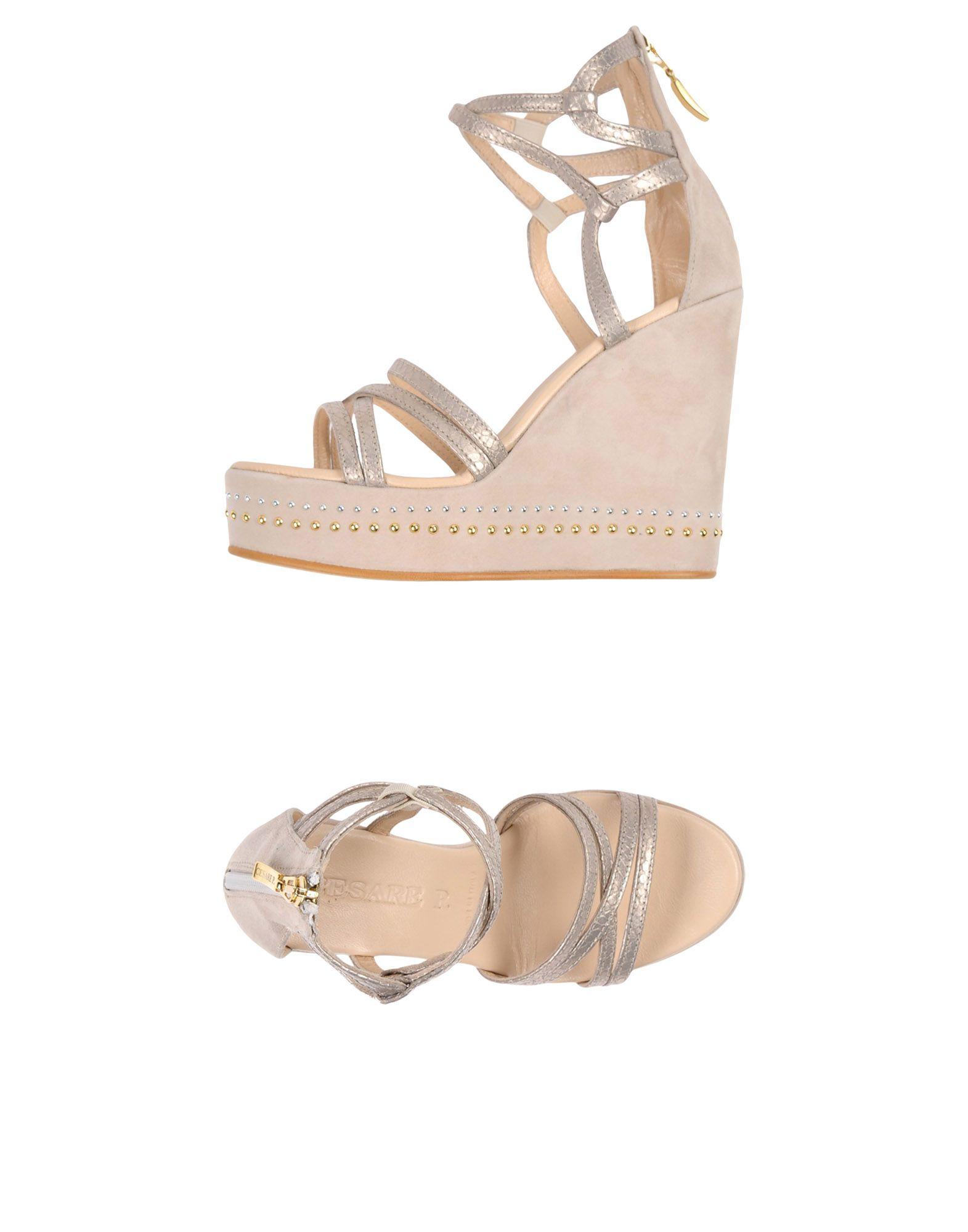 Cesare P. Sandalen Damen  11442849LB Gute Qualität beliebte Schuhe