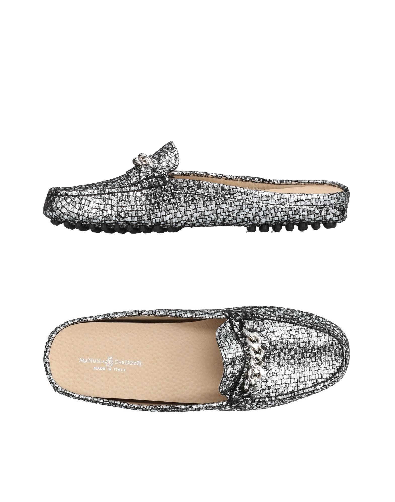 Manuela Dardozzi Pantoletten Damen  11442874WT Gute Qualität beliebte Schuhe