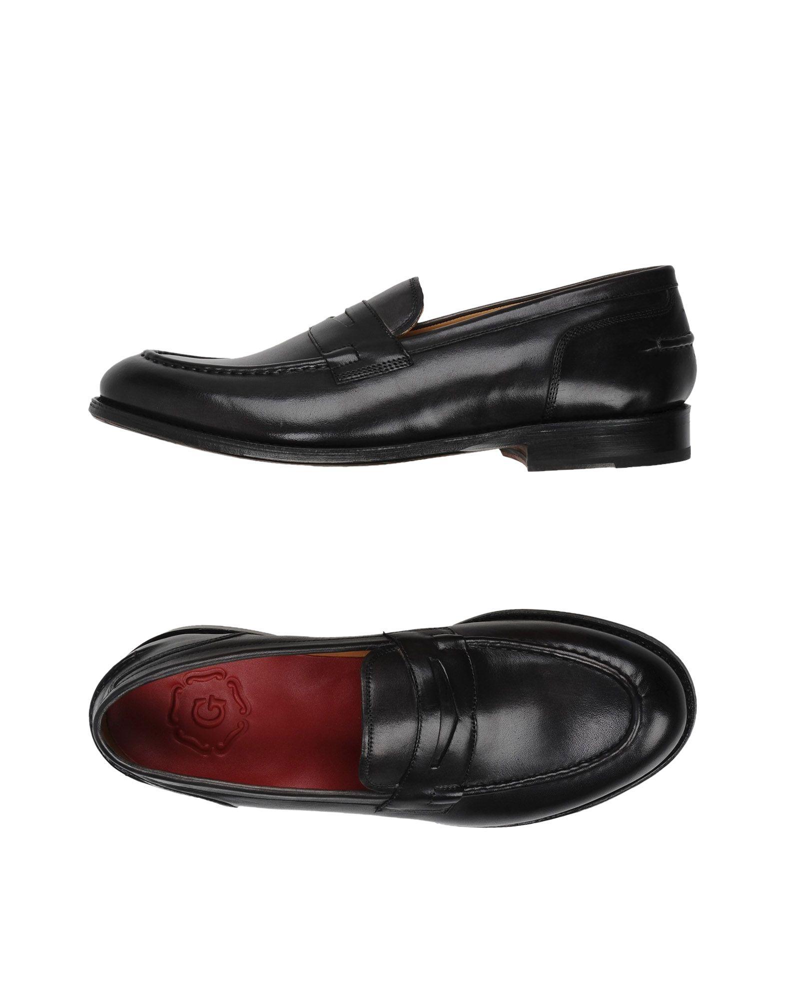Mocassins Grenson Maxwell Dk Gry Handpainted Loafer Lesi E - Homme - Mocassins Grenson sur