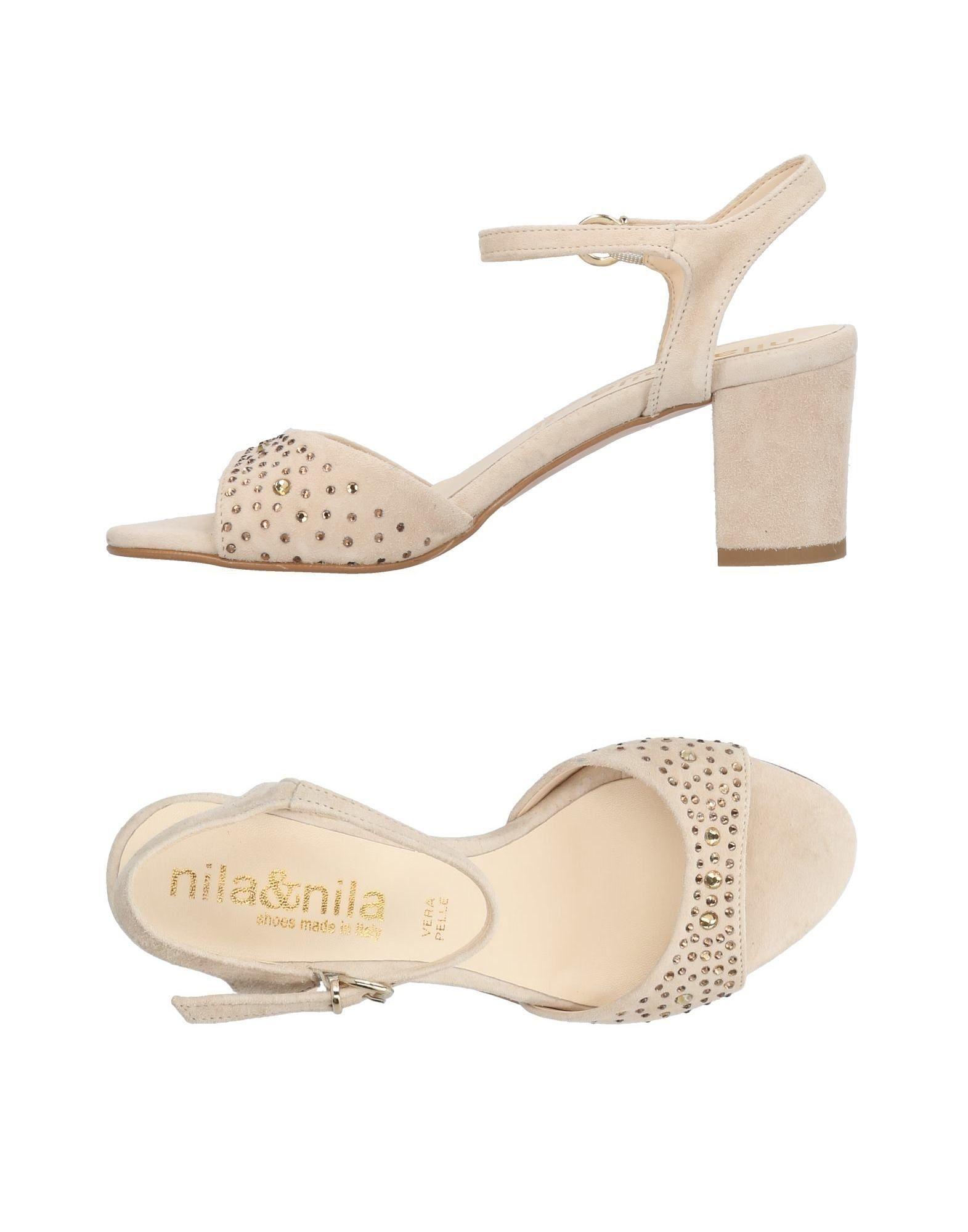 Nila & Nila Sandalen Damen  11443382QI Gute Qualität beliebte Schuhe