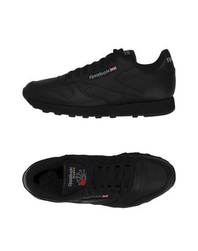 Zapatos con descuento Zapatillas Reebok Cl Lthr - Hombre - Negro Zapatillas Reebok - 11443458AF Negro - 635f4c