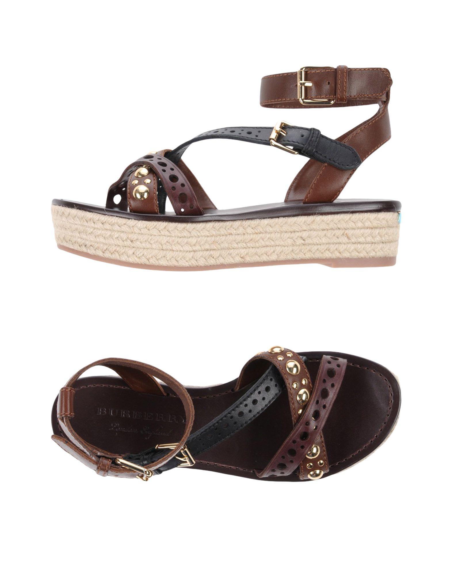 Rabatt Schuhe Burberry Sandalen Damen  11443722GH