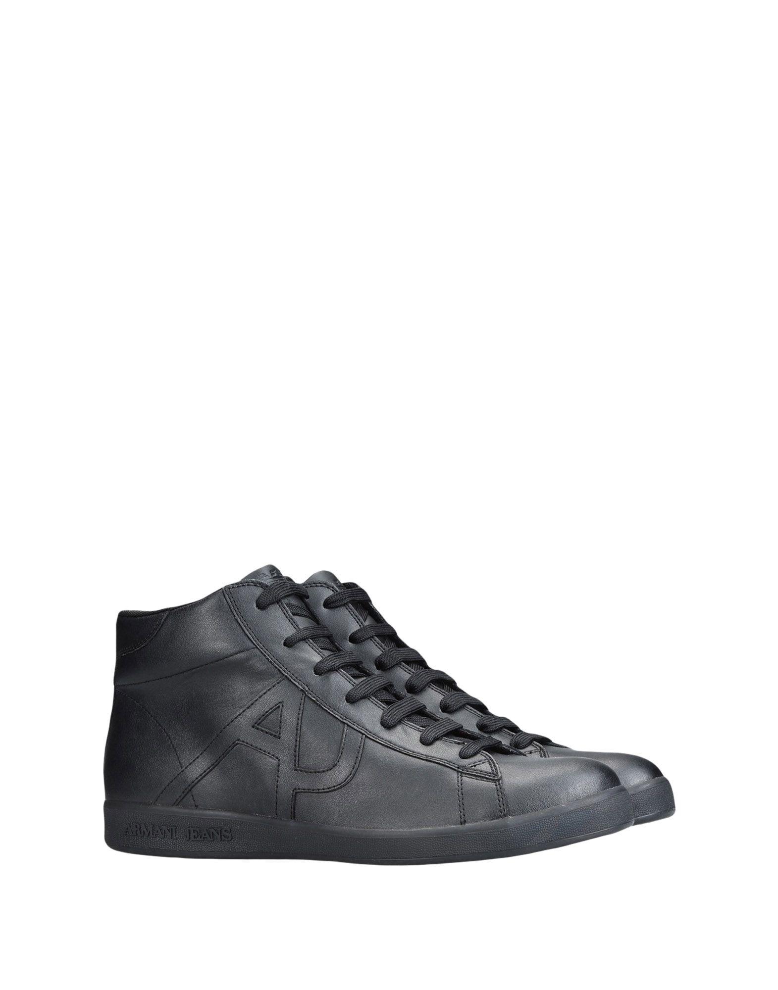 Rabatt echte Schuhe Armani Jeans Sneakers Herren  11443740MG