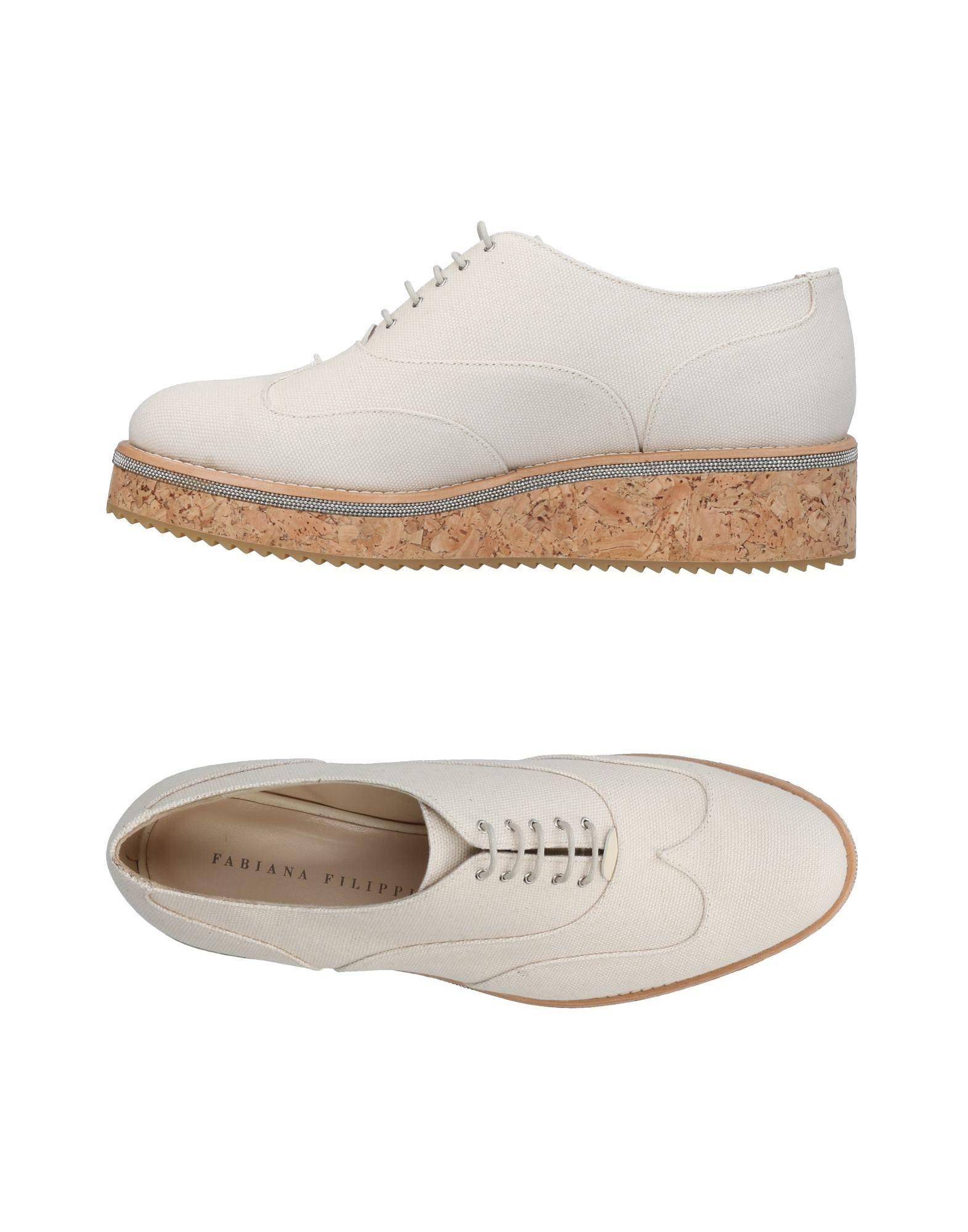 Stilvolle billige Schuhe Fabiana Filippi Schnürschuhe Damen  11443863VV