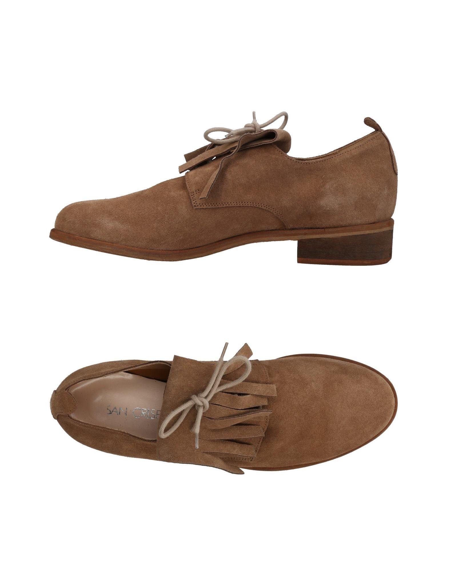 Chaussures À Lacets San Crispino Femme - Chaussures À Lacets San Crispino sur