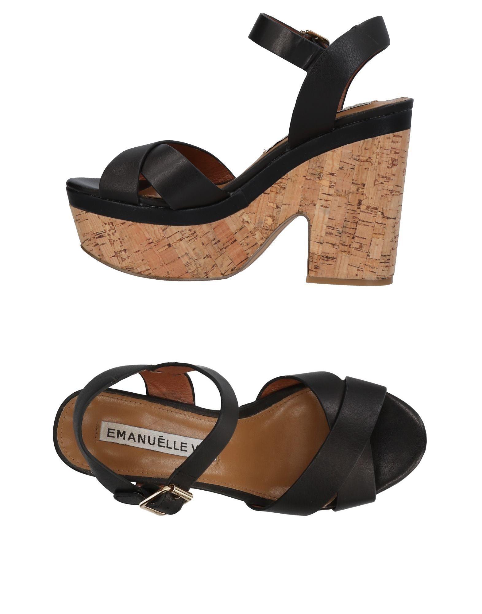 Emanuélle on Vee Sandals - Women Emanuélle Vee Sandals online on Emanuélle  Canada - 11443989IH 4e3593