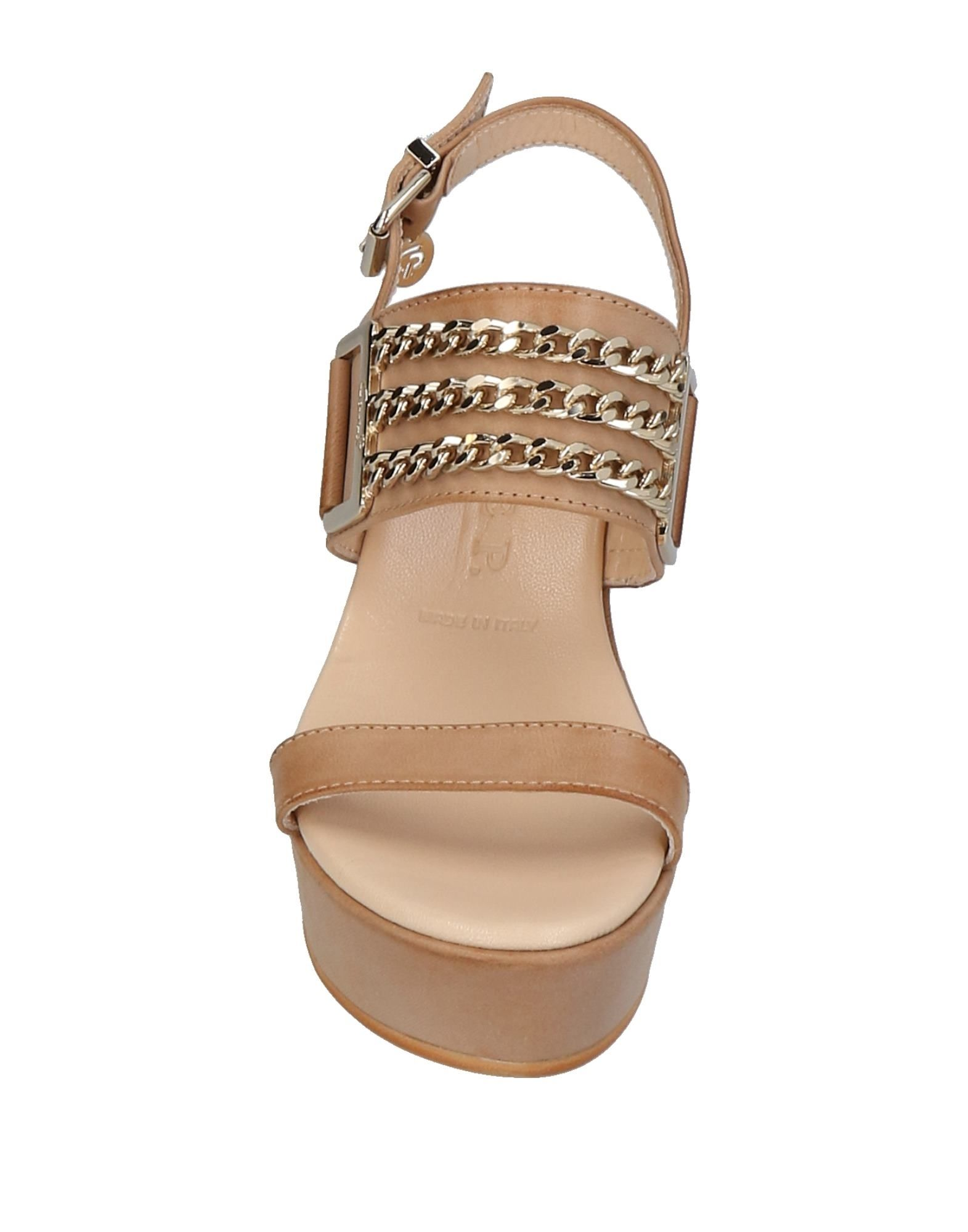 Stilvolle billige Schuhe Cesare P. 11443998QL Sandalen Damen  11443998QL P. 187481