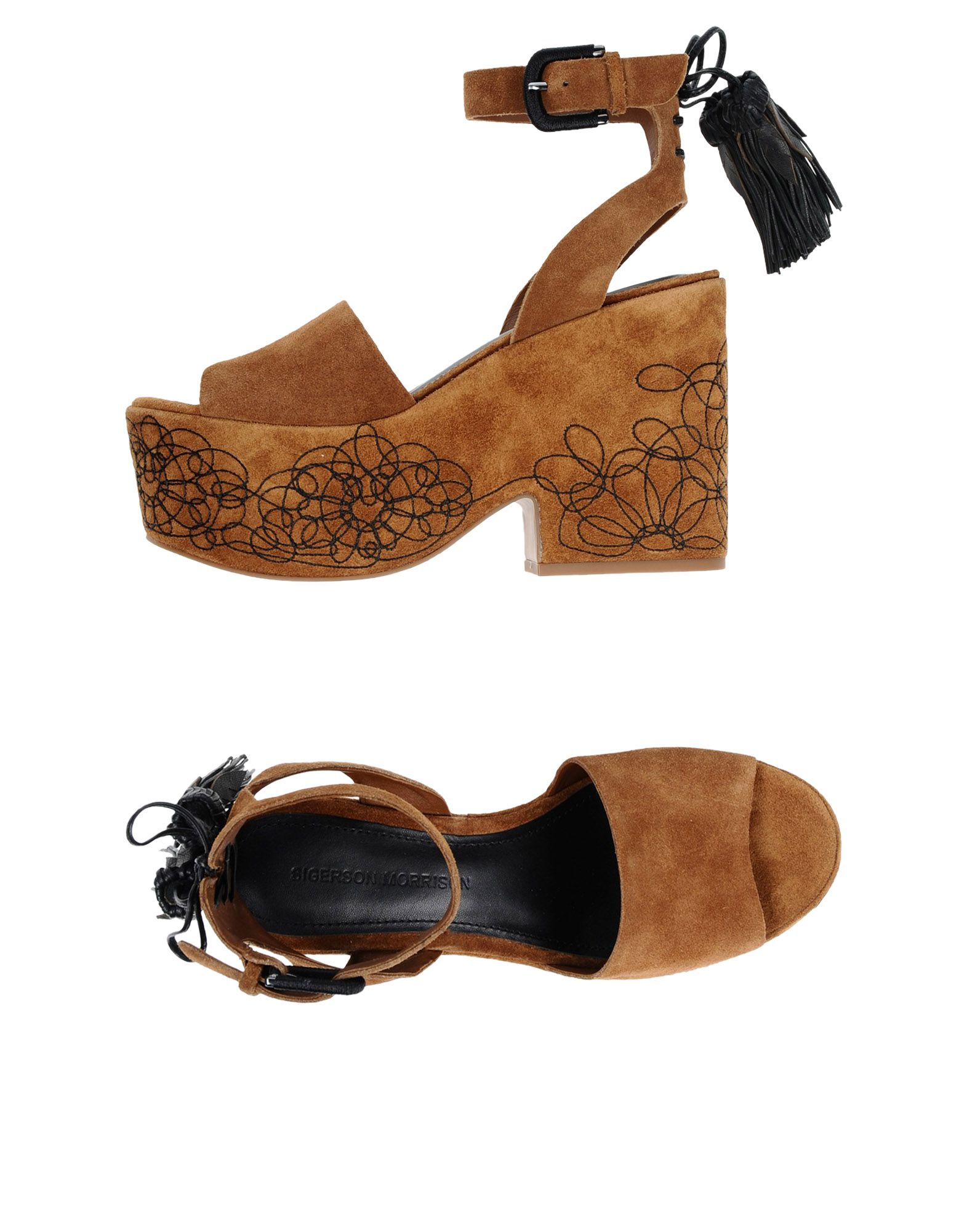 Stilvolle billige Schuhe Sigerson Morrison Sandalen Damen  11444191QJ