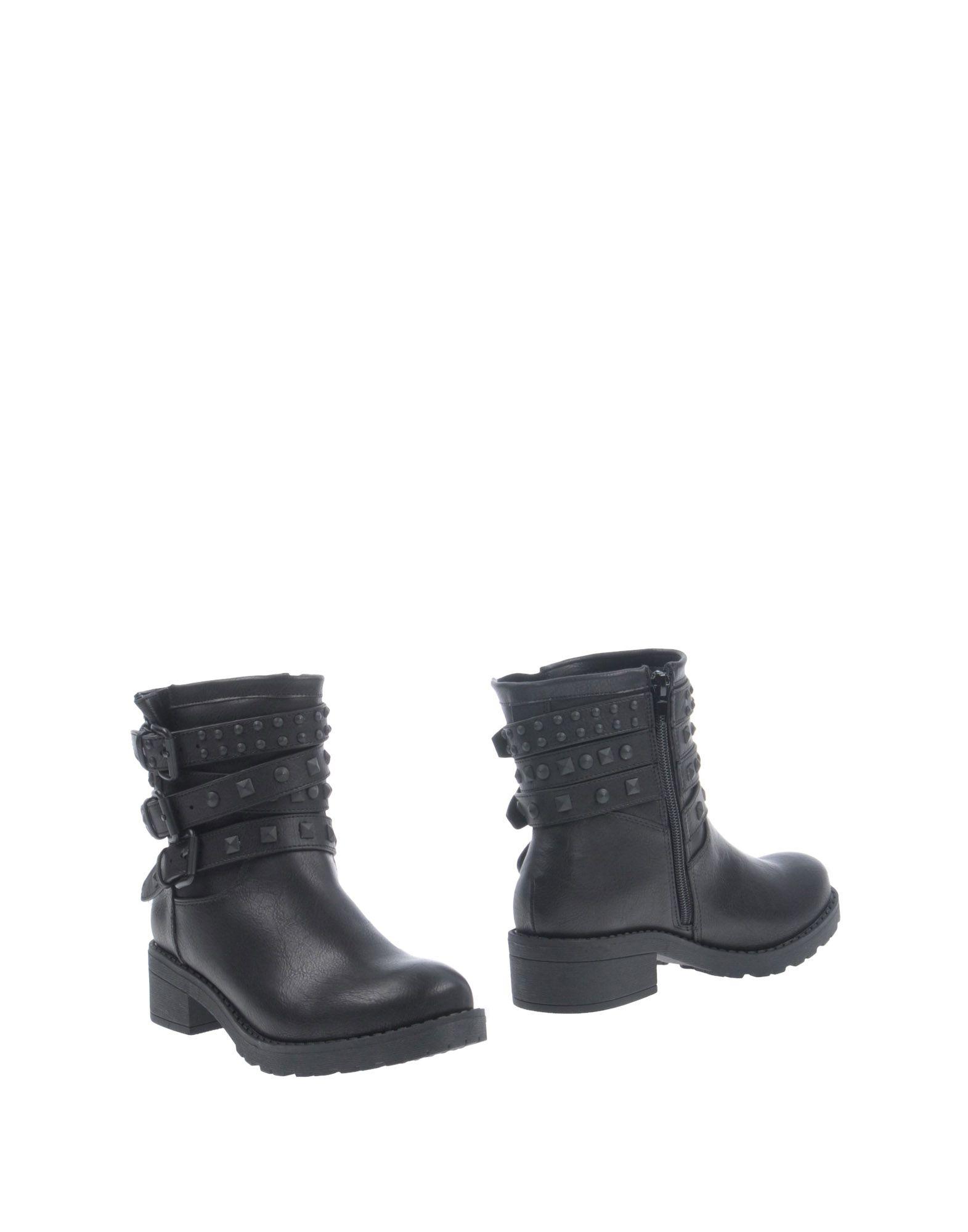 Bottine Francesco Milano Femme - Bottines Francesco Milano Noir Nouvelles chaussures pour hommes et femmes, remise limitée dans le temps