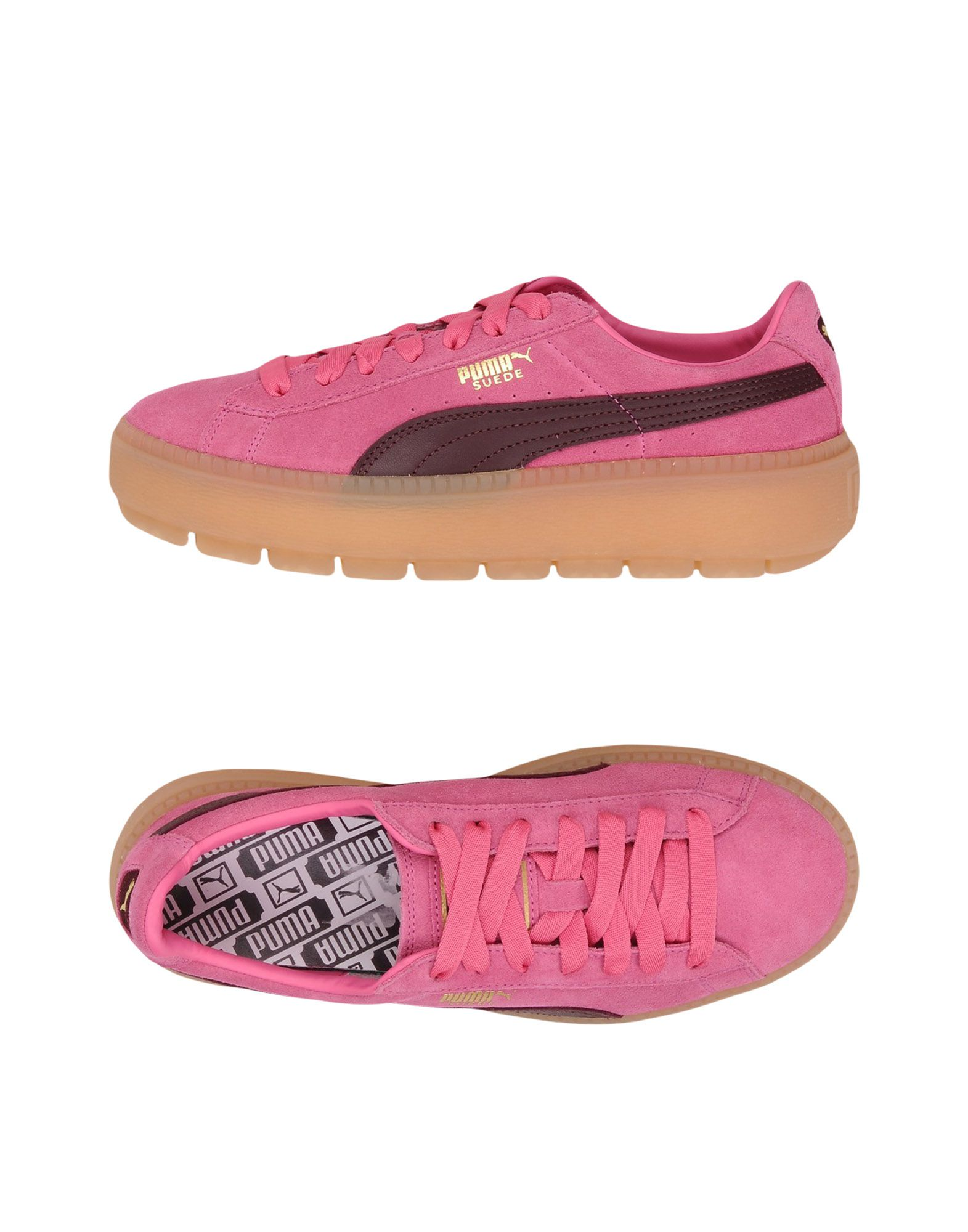 Puma Suede Platformtraceblockwn's  11444995UI Gute Qualität beliebte Schuhe