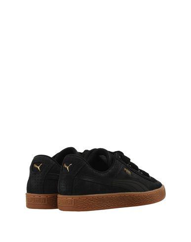 Puma Basket Heart Perf Gum Sneakers Donna Scarpe Nero