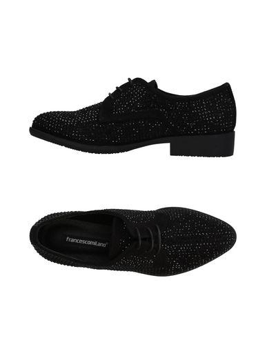 Noir Francesco Chaussures À Lacets Milano qqPOxw6