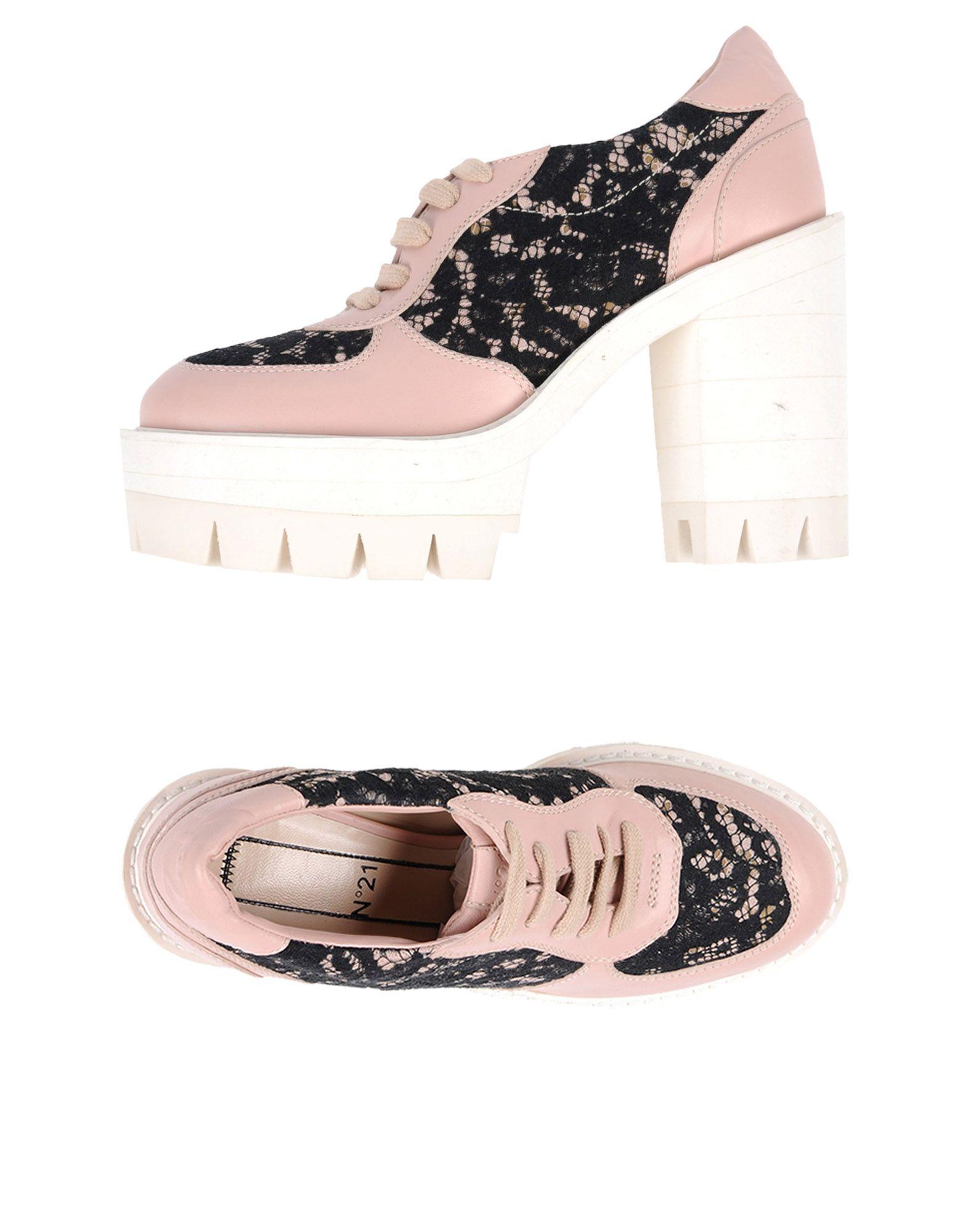 N° 21 Schnürschuhe Damen  11445534RDGut aussehende strapazierfähige Schuhe