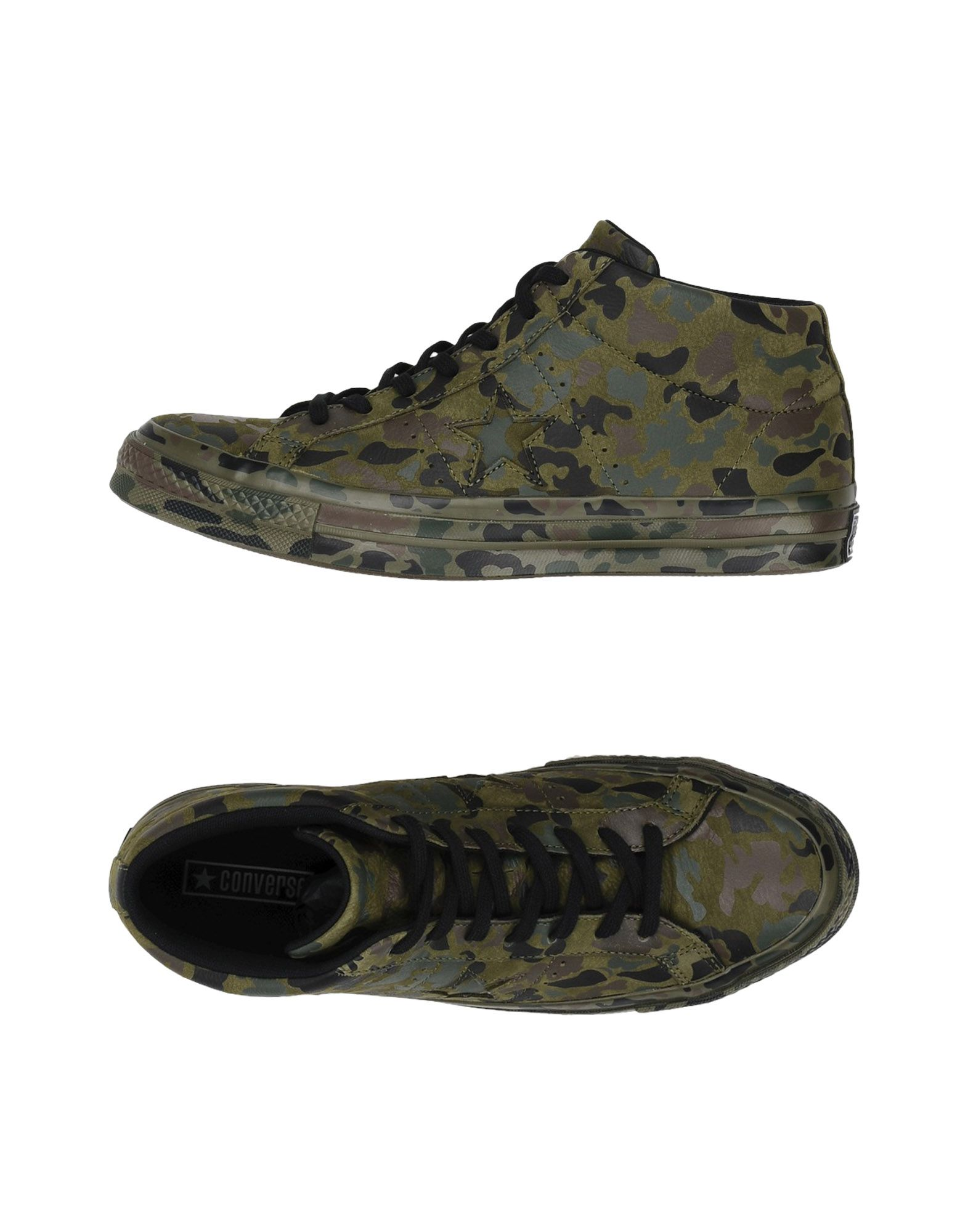 Sneakers Converse All Star One Star Mid Utility Camo - Uomo - 11445648VV