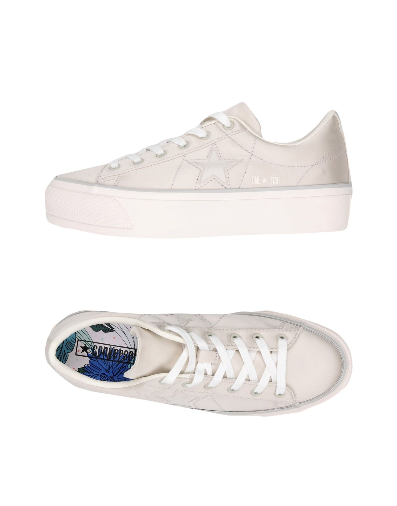 Acquista All su Satin Sneakers Converse One Star Platform Star Donna online 5x8xqwvSA