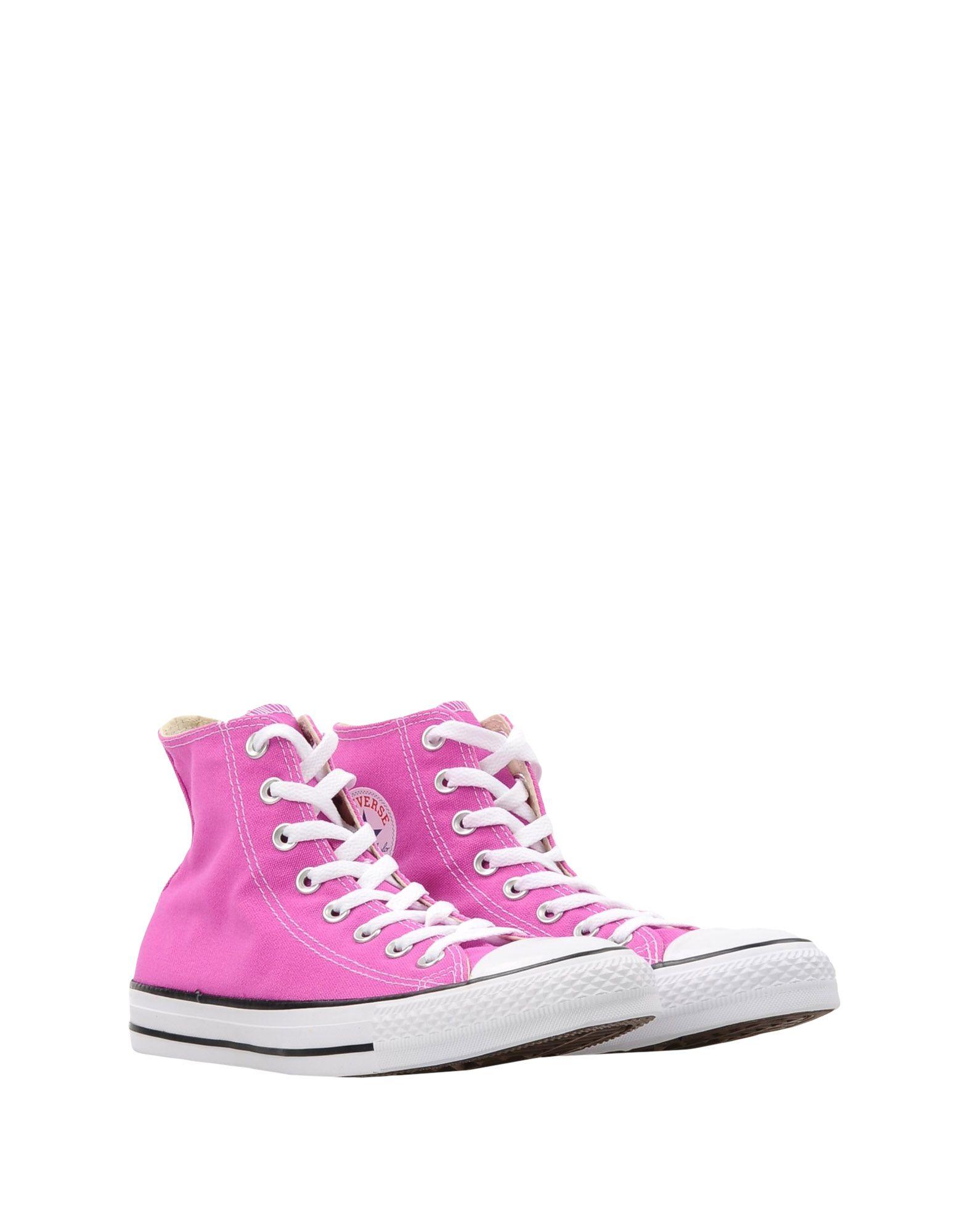 Converse All Star Ctas Hi Canvas Seasonal Colors Sneakers & Tennis Montantes Femme. V3kVFC
