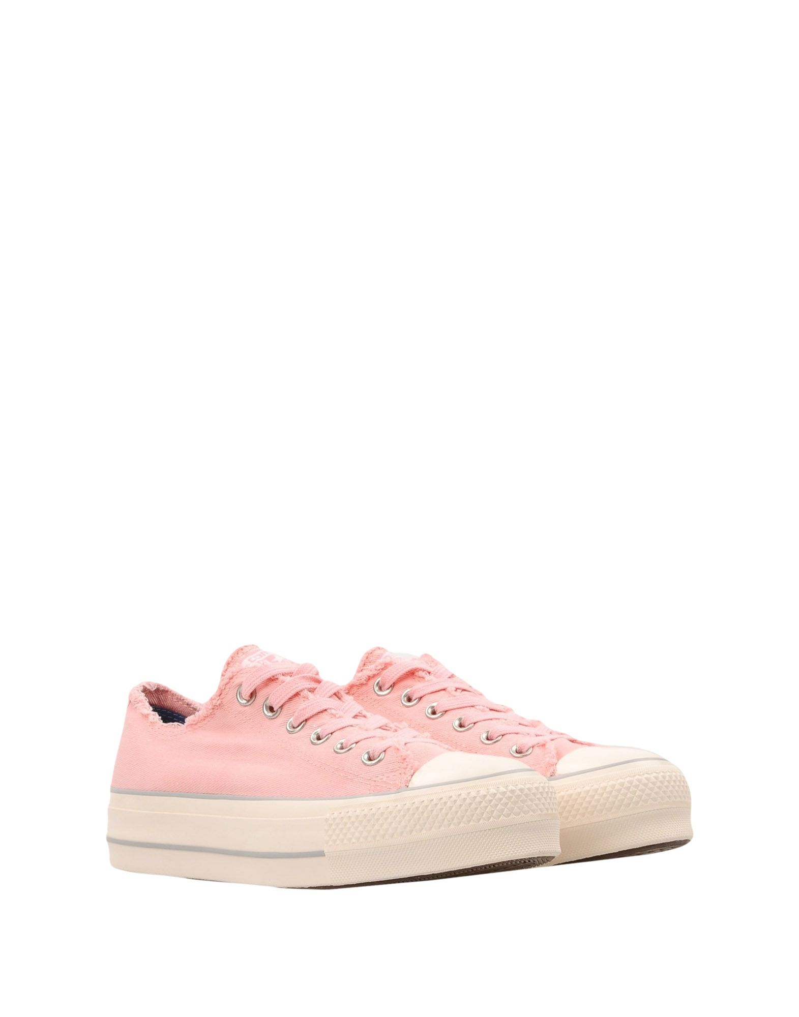Sneakers Converse All Star Ctas Ox Clean Lift Denim Frayed - Donna - 11445803VM