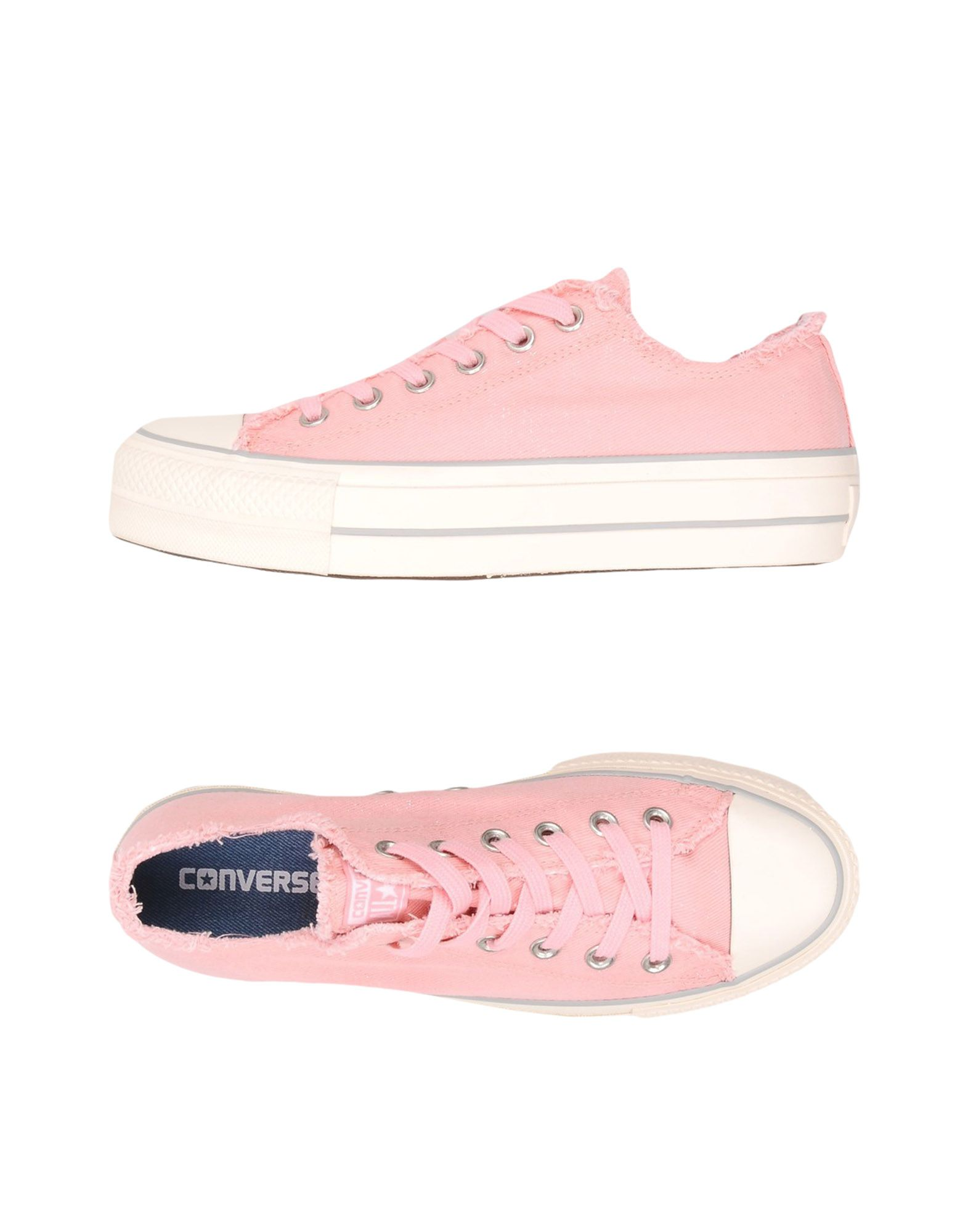 Sneakers Converse All Star Ctas Ox Clean Lift Denim Frayed - Donna - Acquista online su