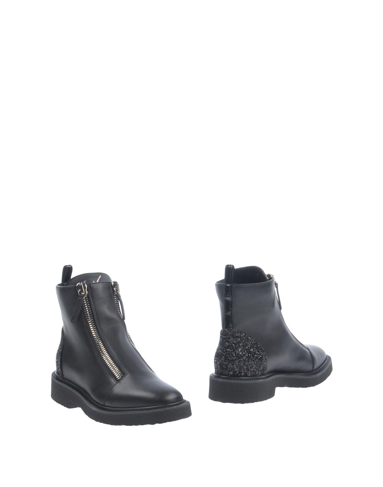 Bottine Giuseppe Zanotti Femme - Bottines Giuseppe Zanotti Noir Dernières chaussures discount pour hommes et femmes