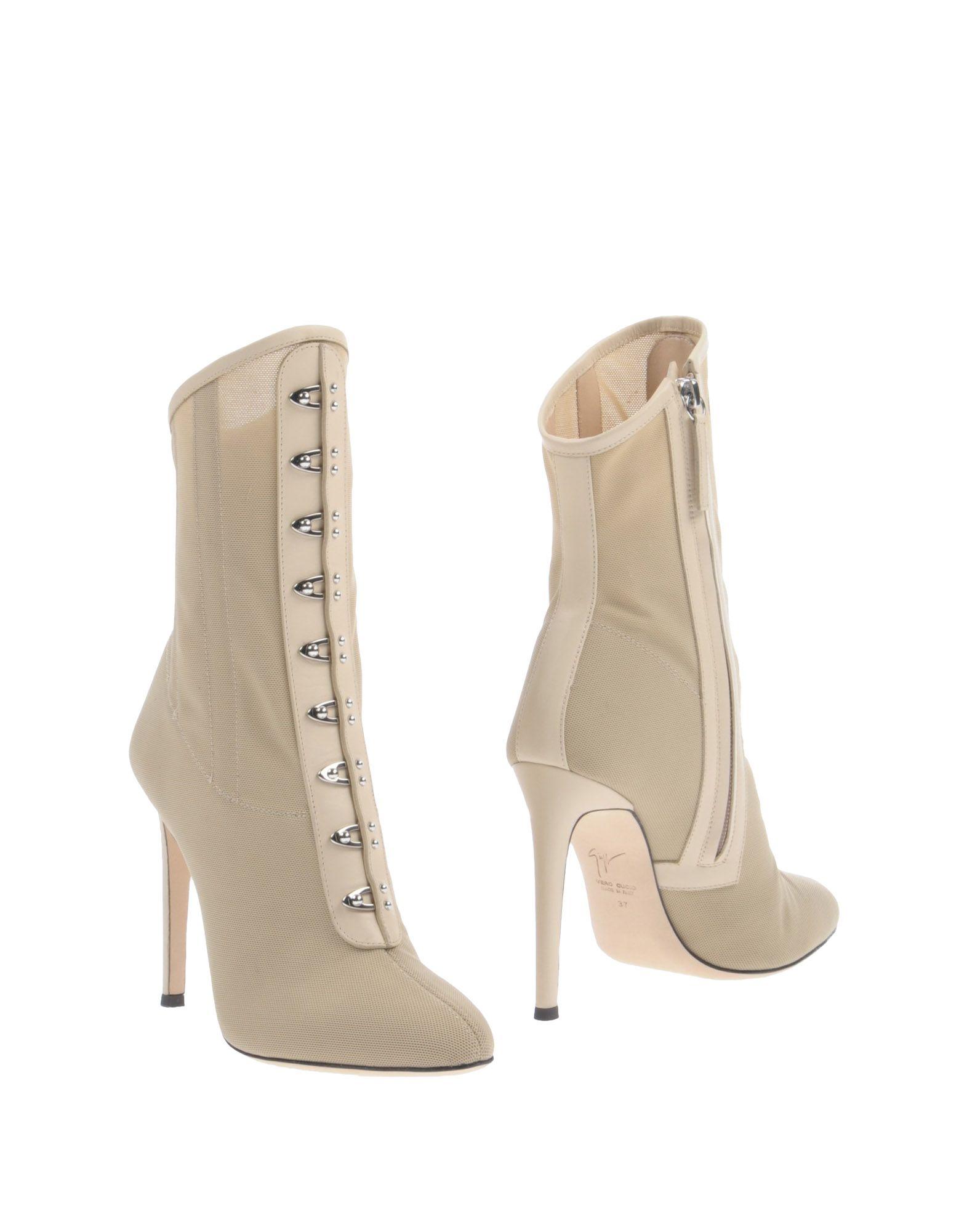 Bottine Giuseppe Zanotti Femme - Bottines Giuseppe Zanotti Beige Les chaussures les plus populaires pour les hommes et les femmes