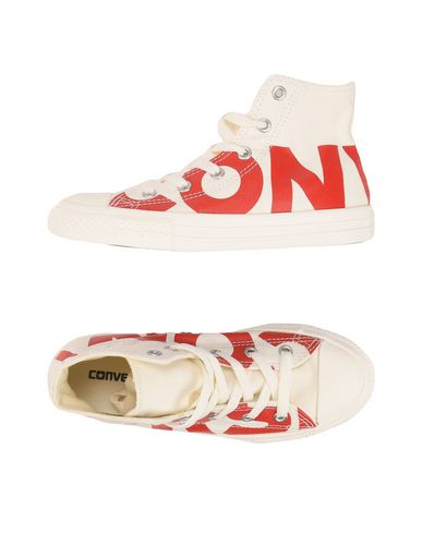 CONVERSE ALL STAR CTAS HI NATURAL/ENAMEL RED/EGRET Sneakers