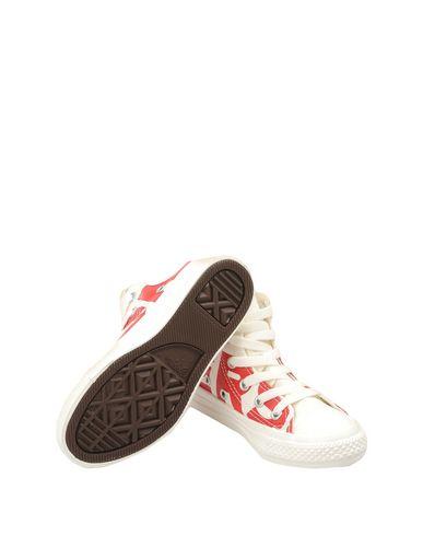 CONVERSE ALL STAR CTAS HI NATURAL/ENAMEL RED/EGRET Sneakers