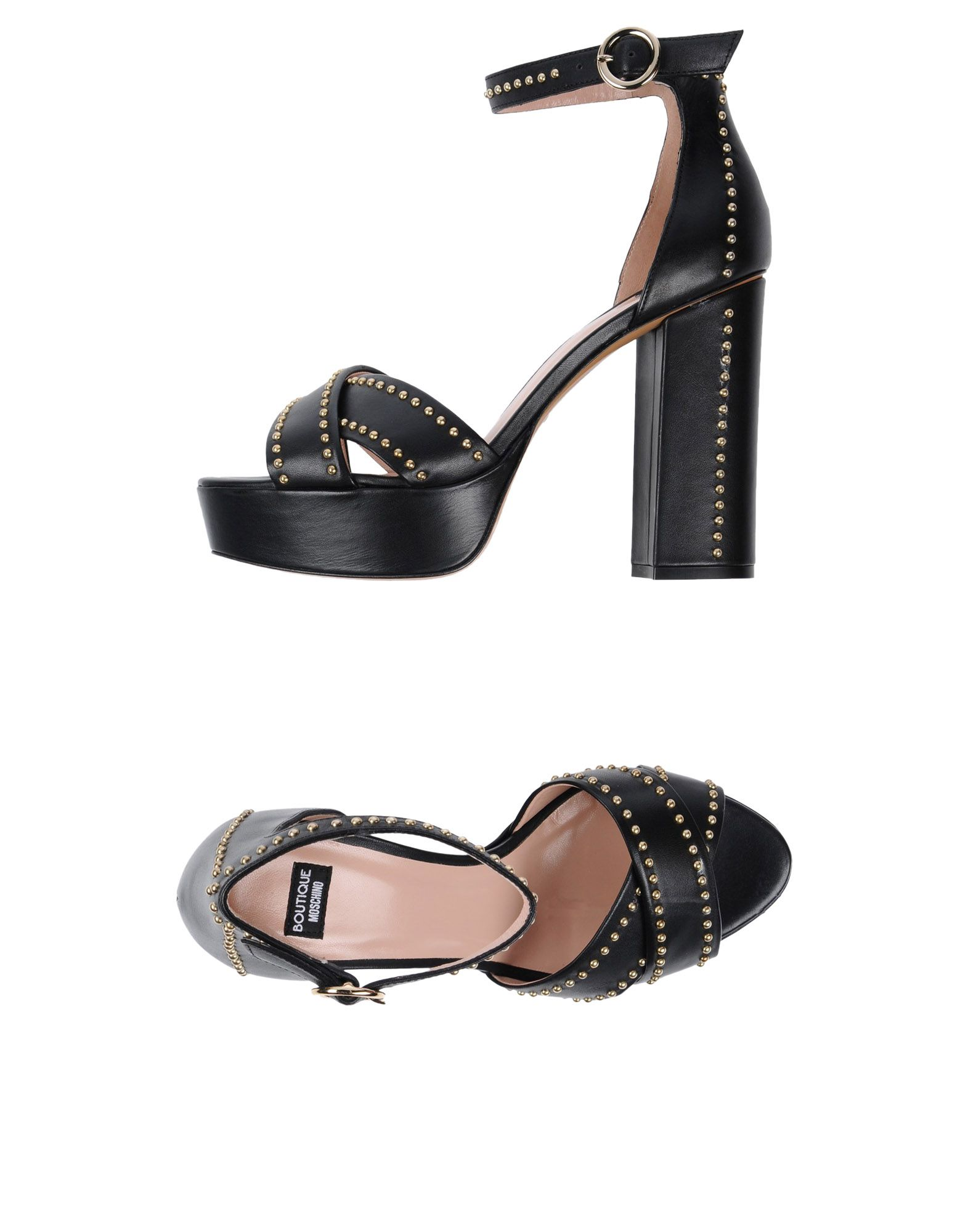 Boutique Moschino Damen Sandalen Damen Moschino  11446027DJ Neue Schuhe 725b96