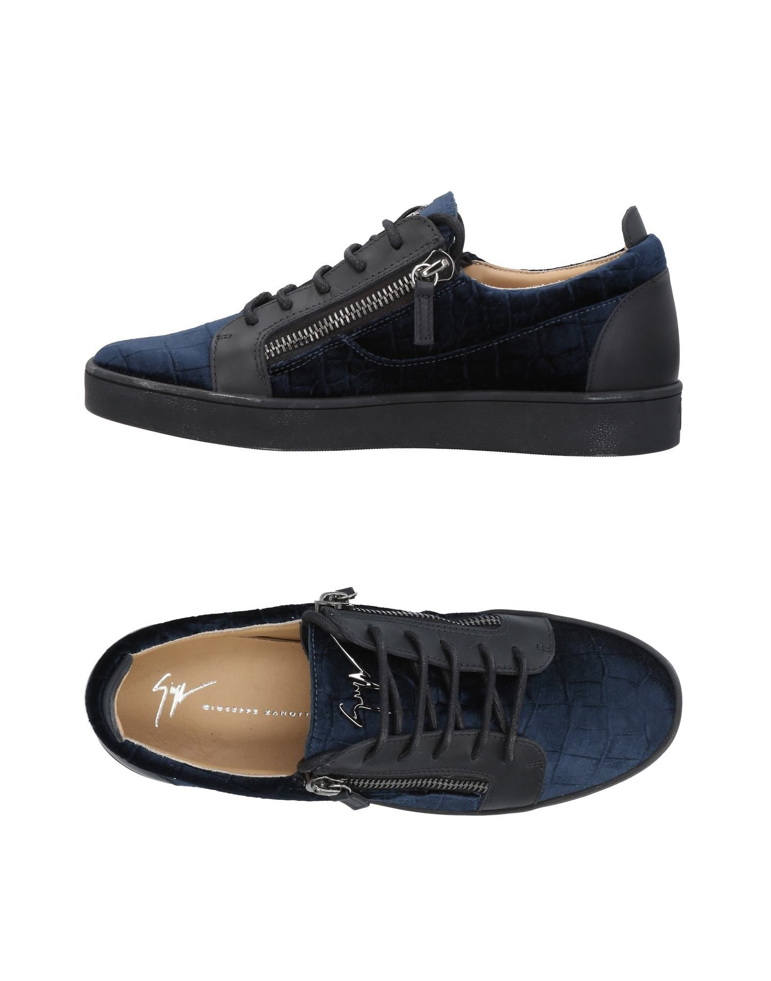 Sneakers Giuseppe Zanotti Homme - Sneakers Giuseppe Zanotti  Noir Dédouanement saisonnier