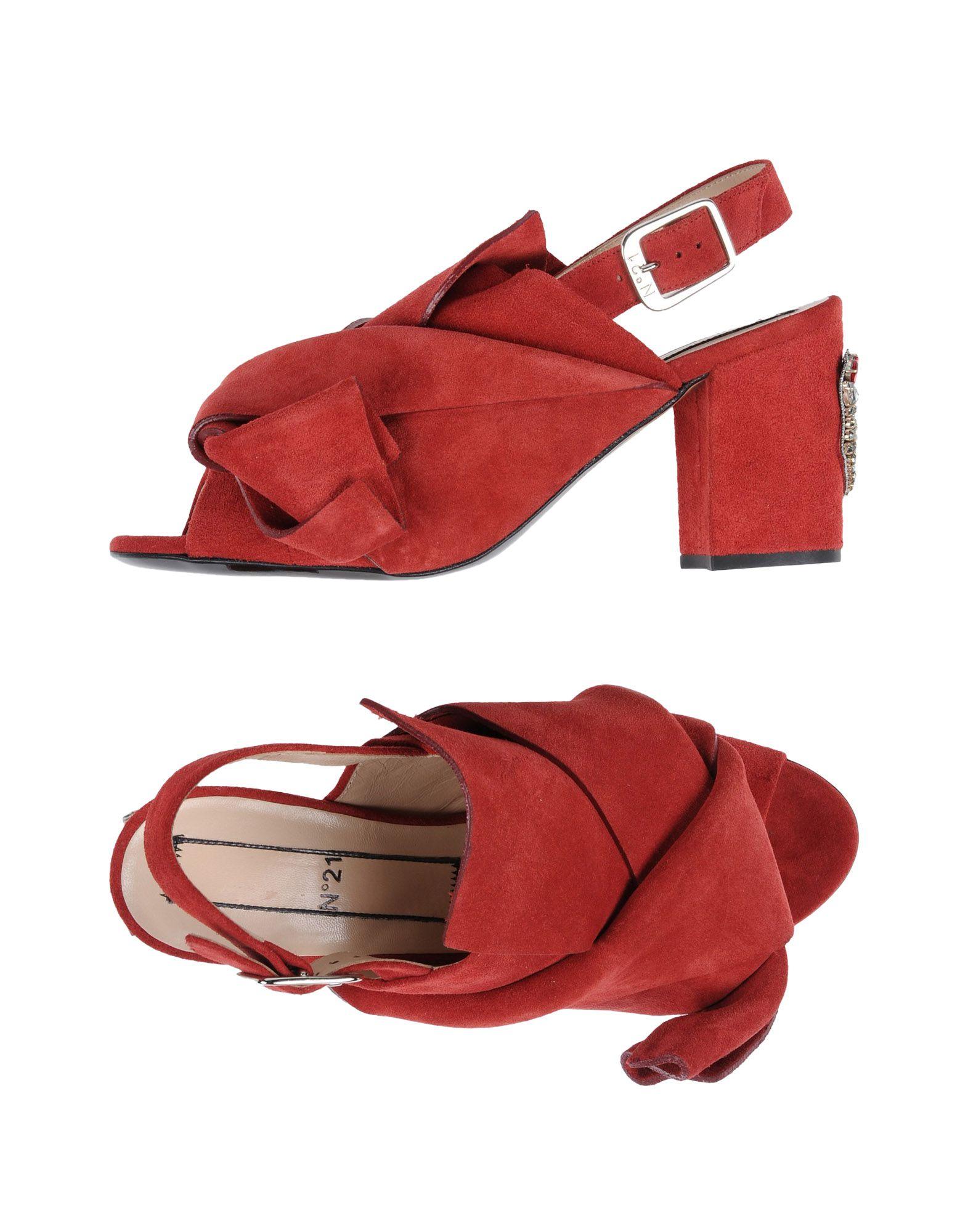 Rabatt Schuhe N° 21 Sandalen Damen  11446353KJ