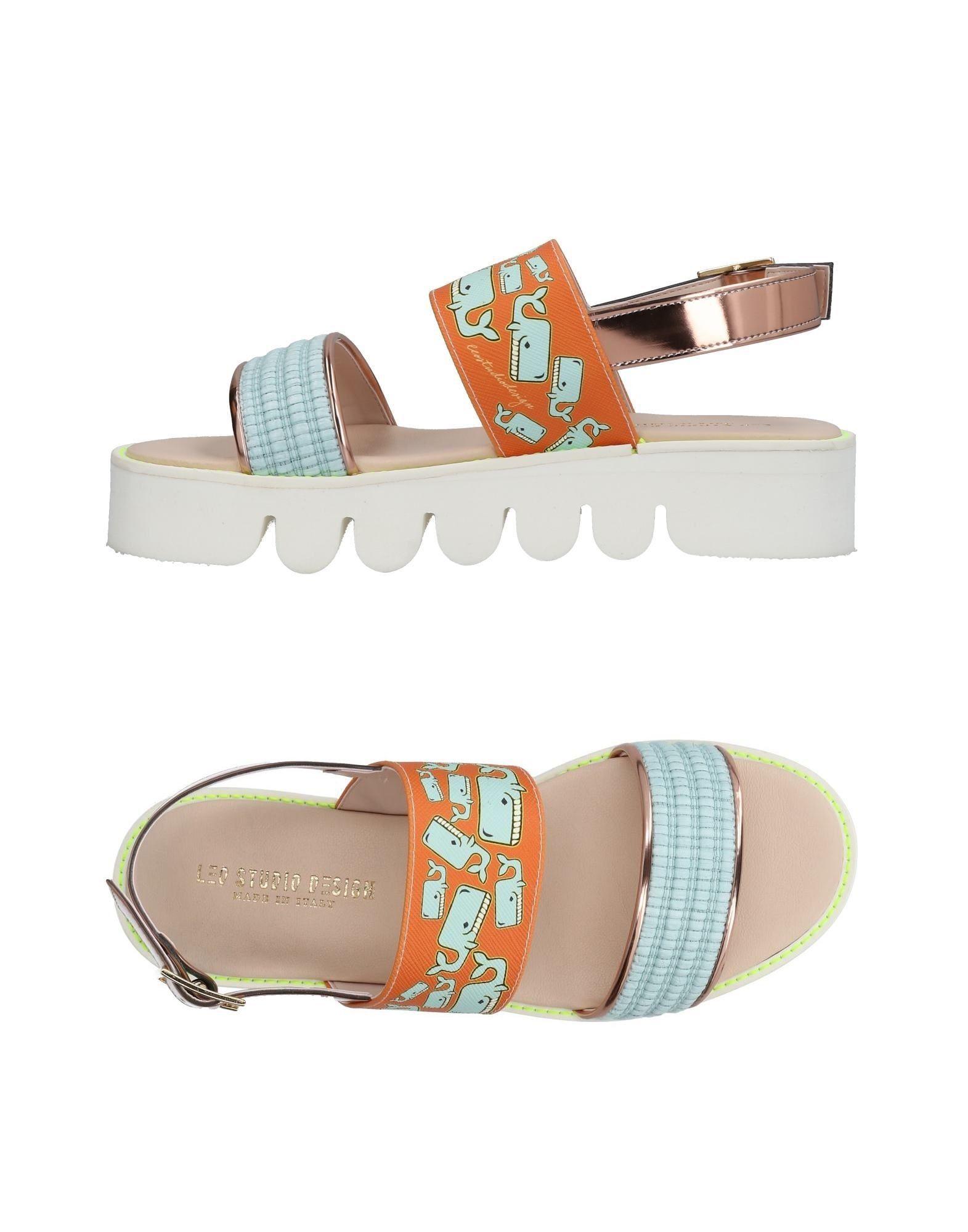 Leo Studio Design Sandalen Damen  11446518NW Neue Schuhe
