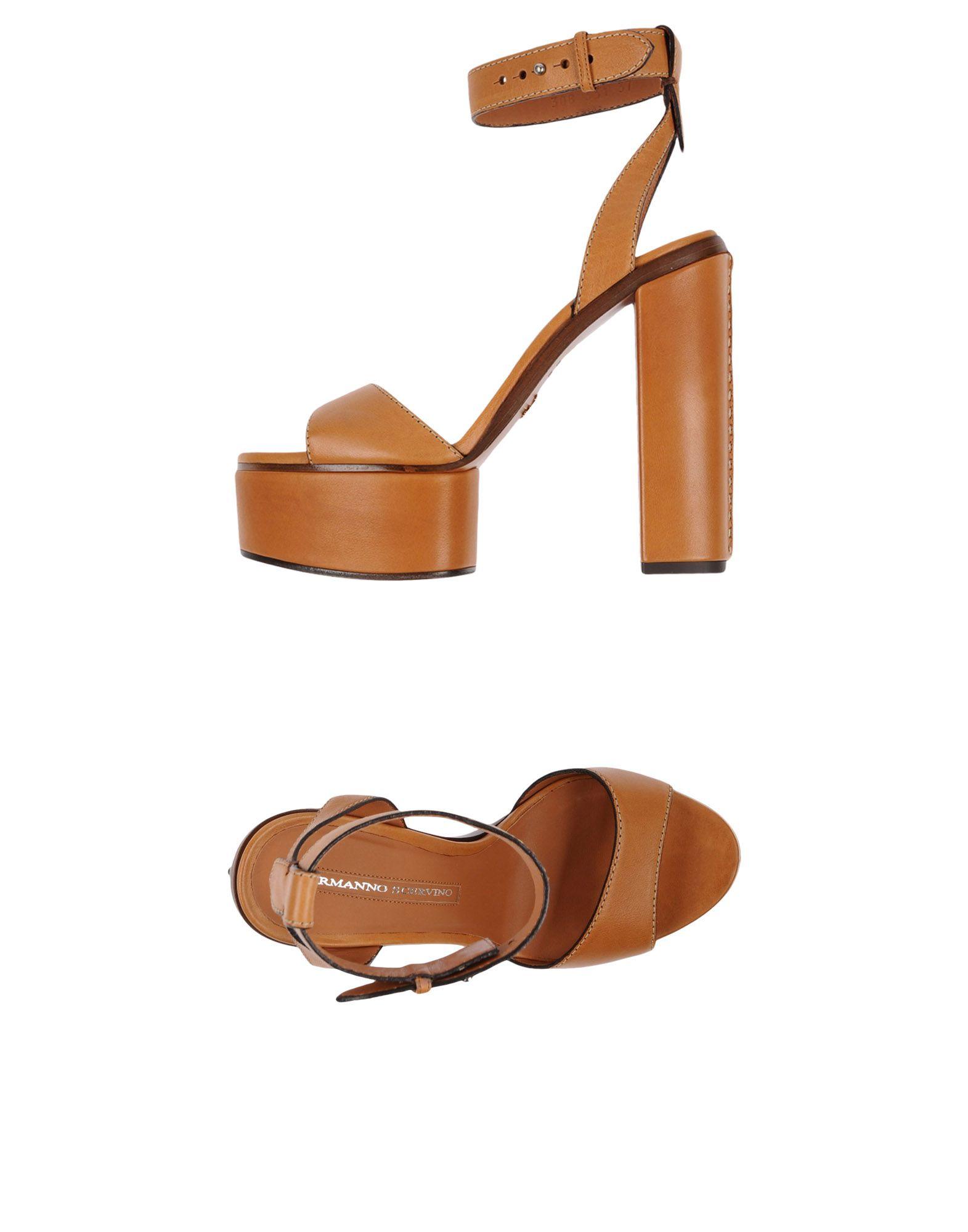 Ermanno Scervino Sandalen Damen  11446624GRGut aussehende strapazierfähige Schuhe