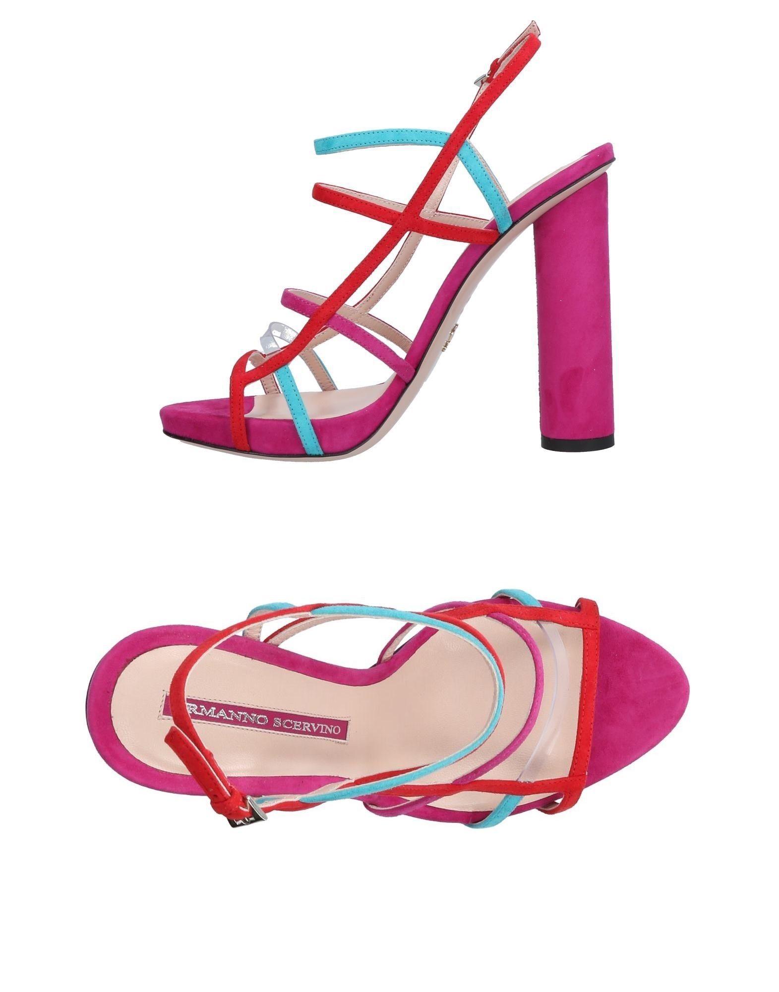 Stilvolle billige Schuhe Ermanno Scervino Sandalen Damen  11446677GR