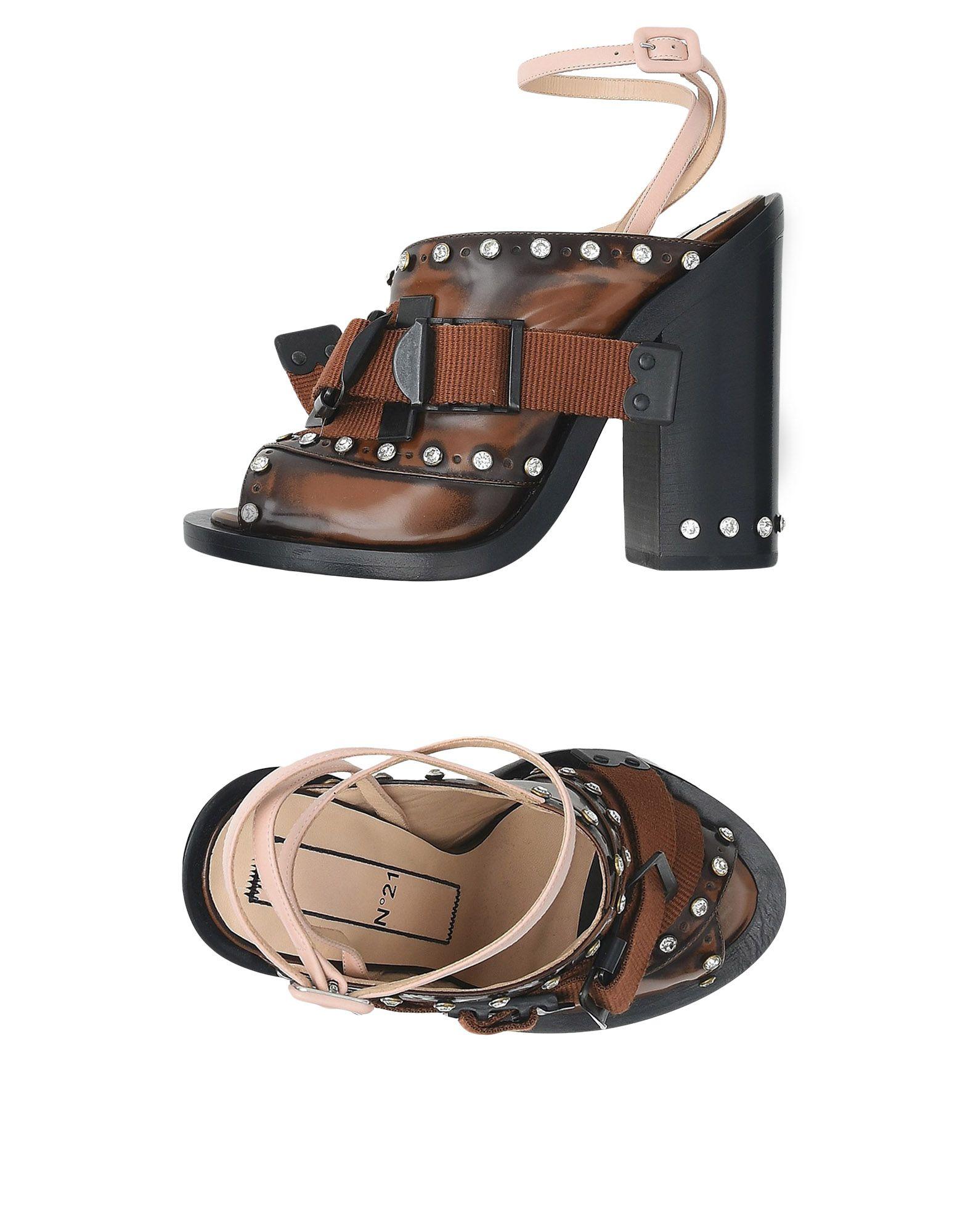 N° 21 Sandalen Damen  11446772RSGut aussehende strapazierfähige Schuhe