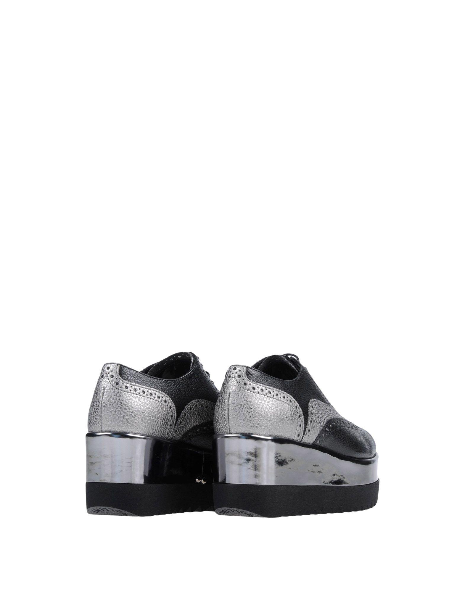 Gut um billige Schuhe zu tragenPollini Schnürschuhe Damen  11446849EJ