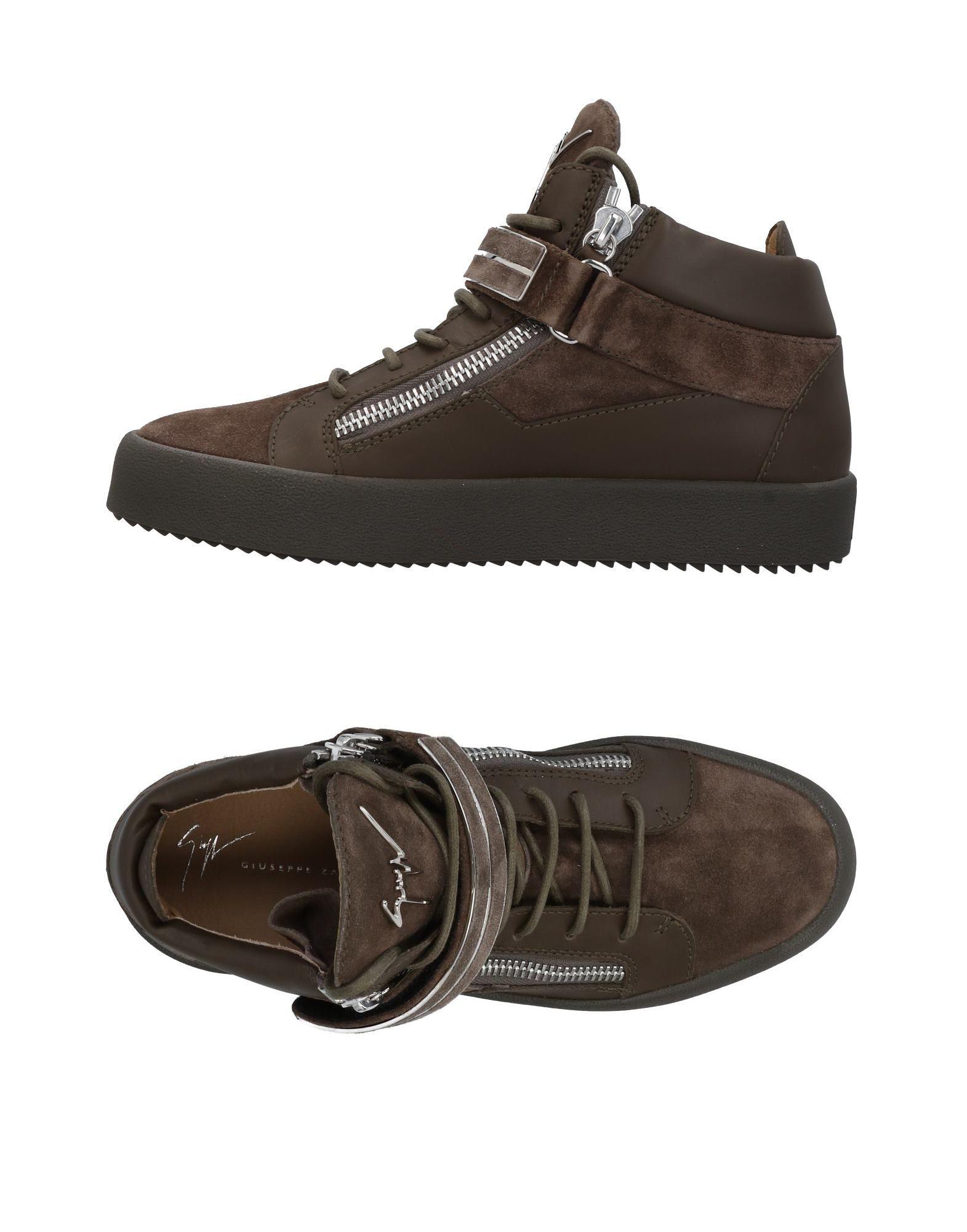 Sneakers Giuseppe Zanotti Homme - Sneakers Giuseppe Zanotti  Vert militaire Remise de marque