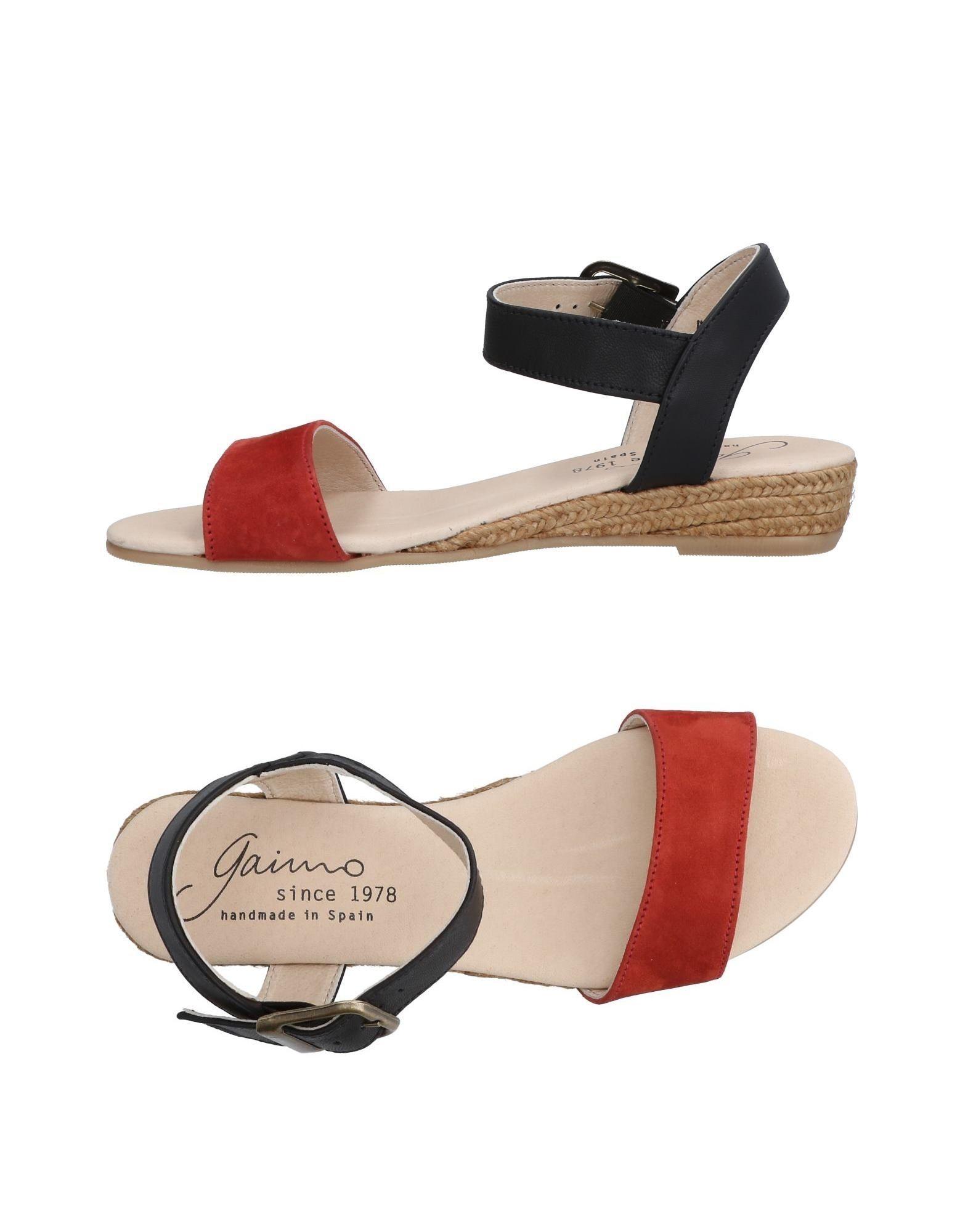 Günstige und modische Schuhe Gaimo Sandalen Damen  11447130IW
