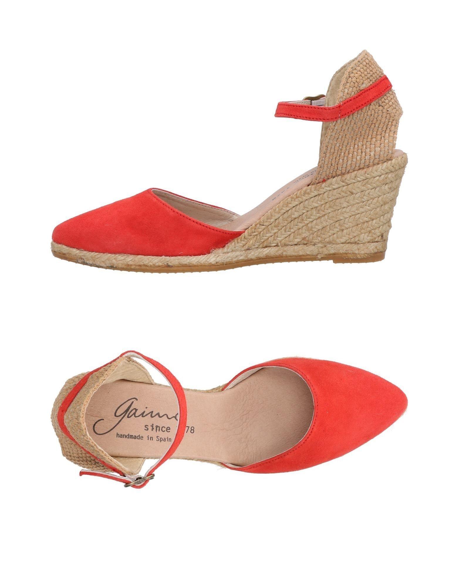 Gaimo Espadrilles Damen  11447142WK Gute Qualität beliebte Schuhe Schuhe Schuhe 9ebba9