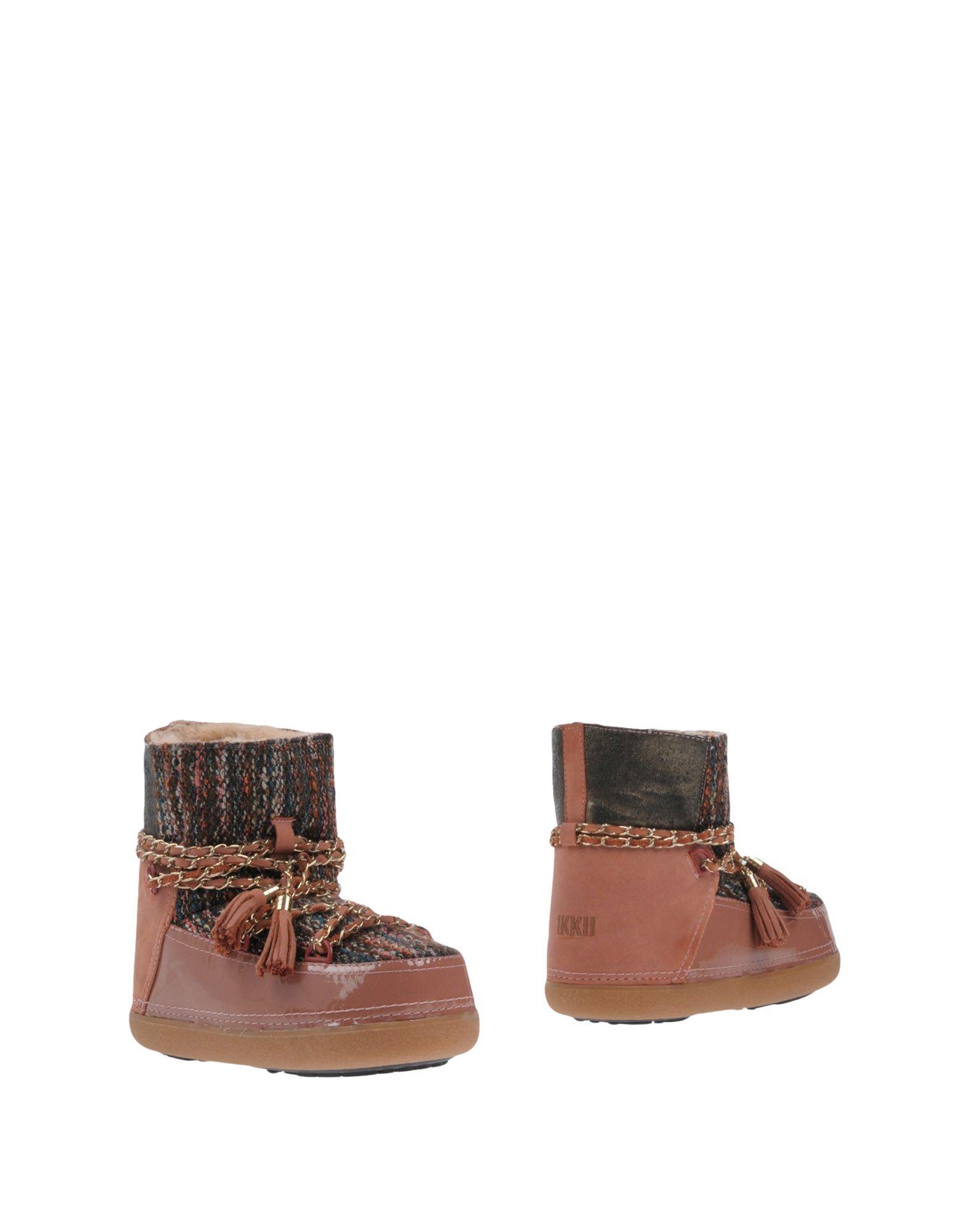 Stilvolle billige Schuhe Ikkii Stiefelette Damen  11447158HL