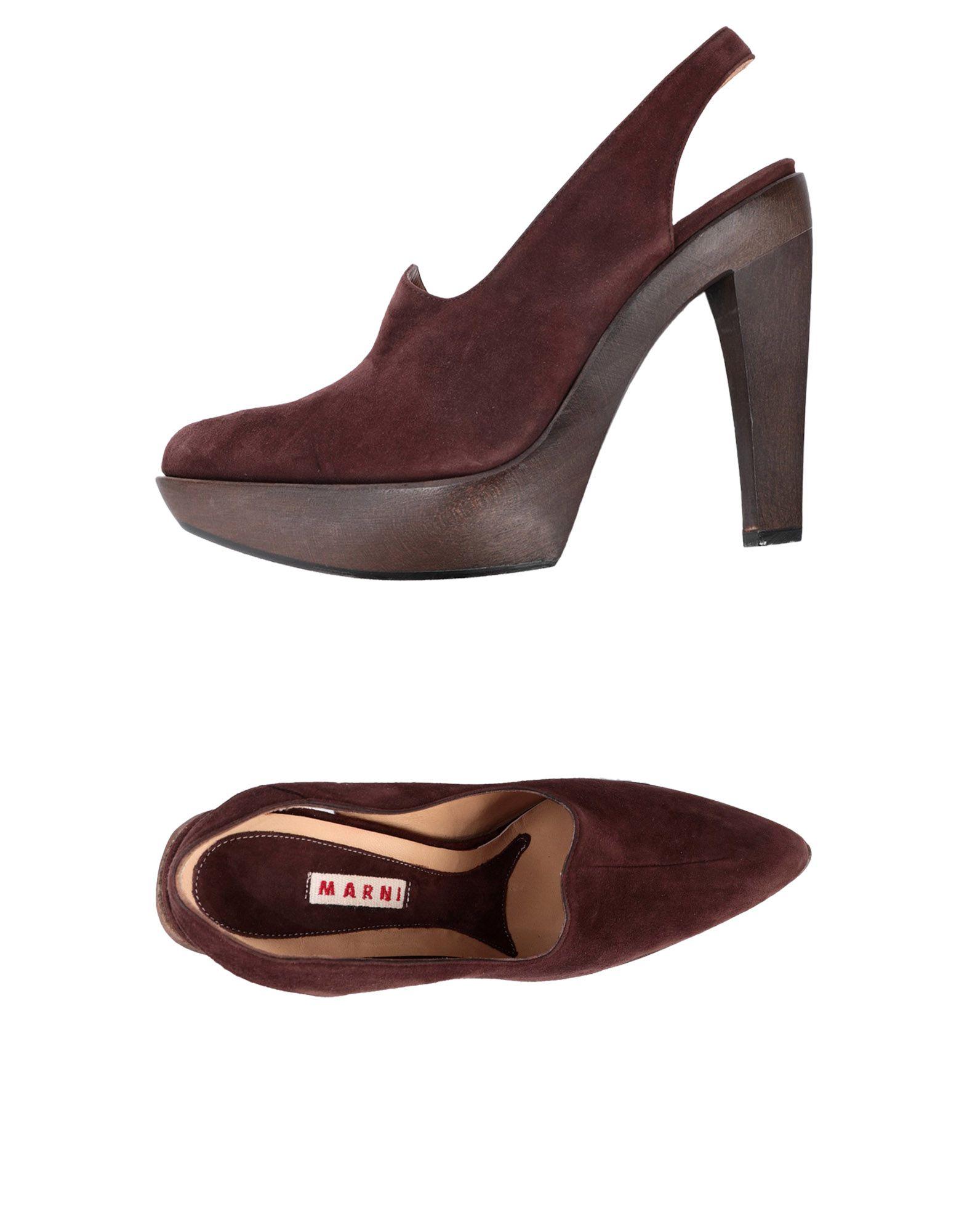 Marni Pumps Damen Schuhe  11447283EVGut aussehende strapazierfähige Schuhe Damen d7f587