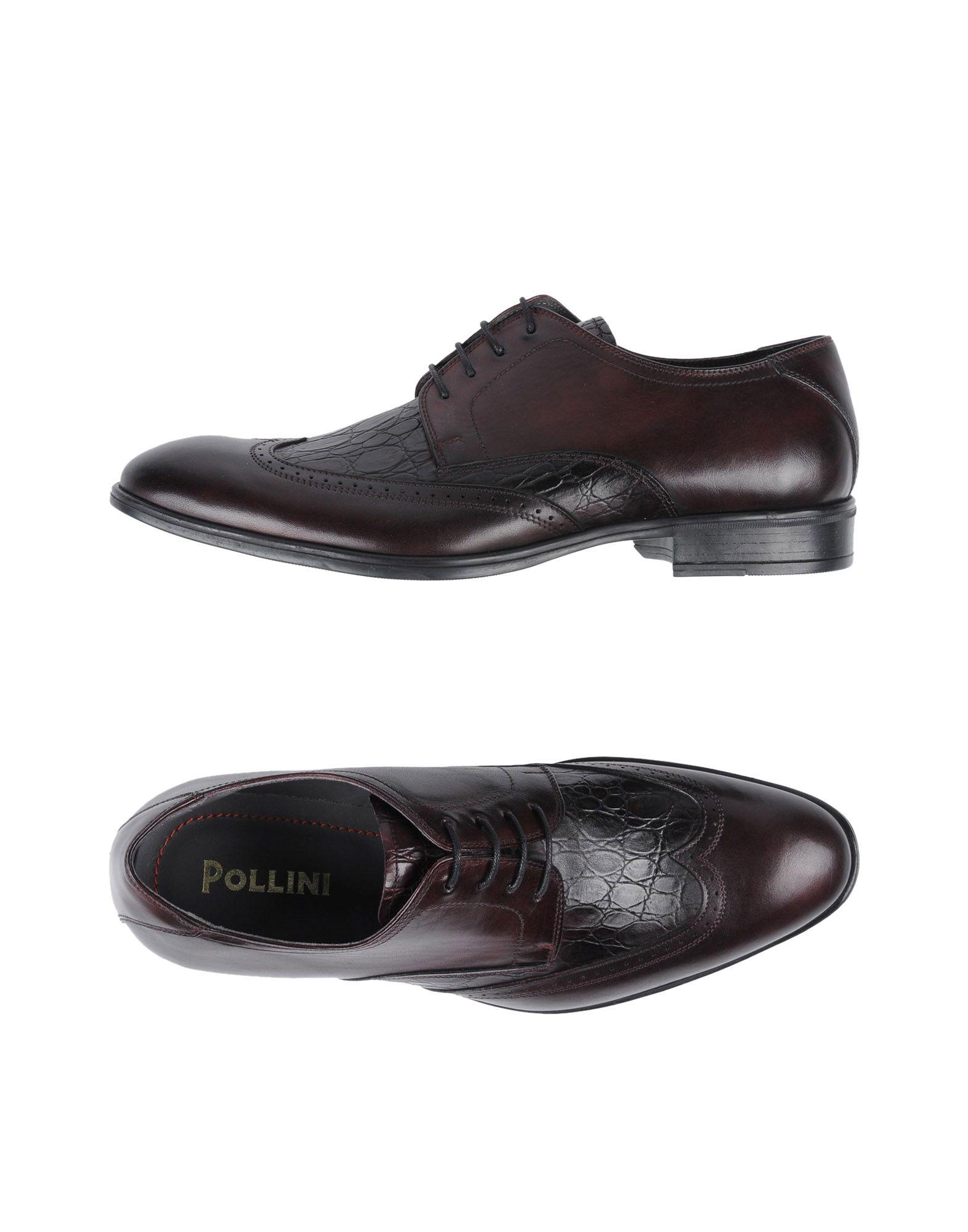 Rabatt echte Schuhe Pollini Schnürschuhe Herren  11447327WA