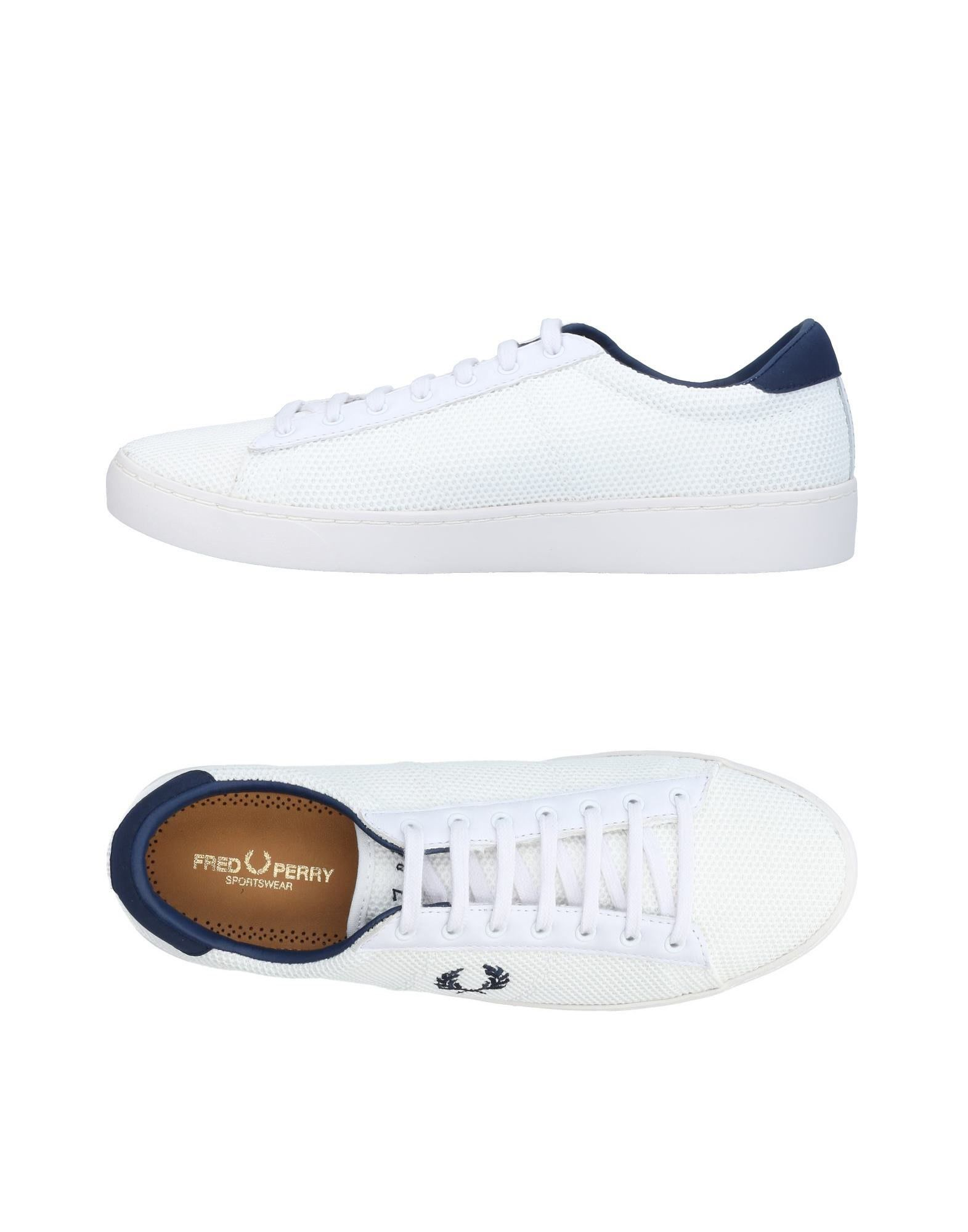 Sneakers Fred Perry Homme - Sneakers Fred Perry  Blanc Remise de marque