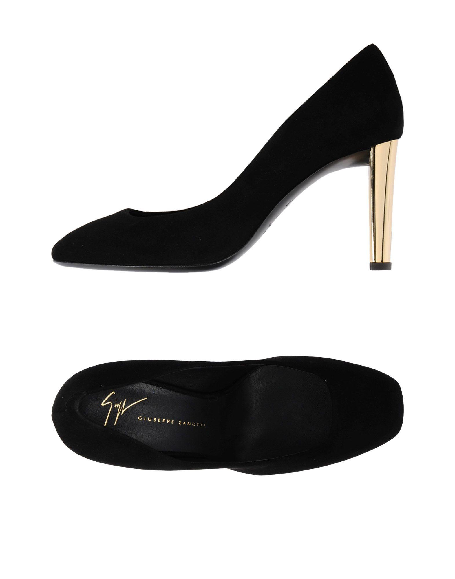 Escarpins Giuseppe Zanotti Femme - Escarpins Giuseppe Zanotti Noir Remise de marque