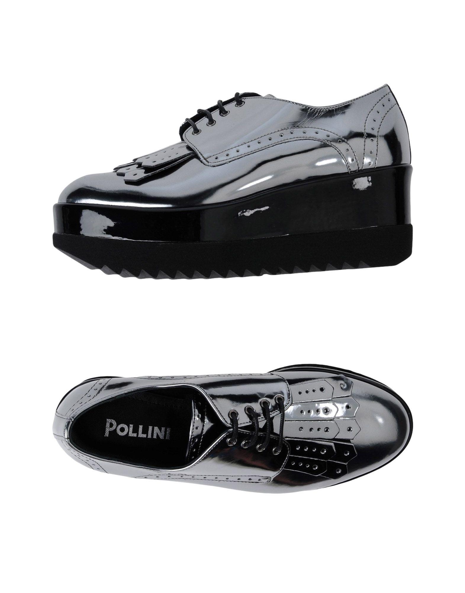 Gut um billige Schuhe zu tragenPollini Schnürschuhe Damen  11447650MG