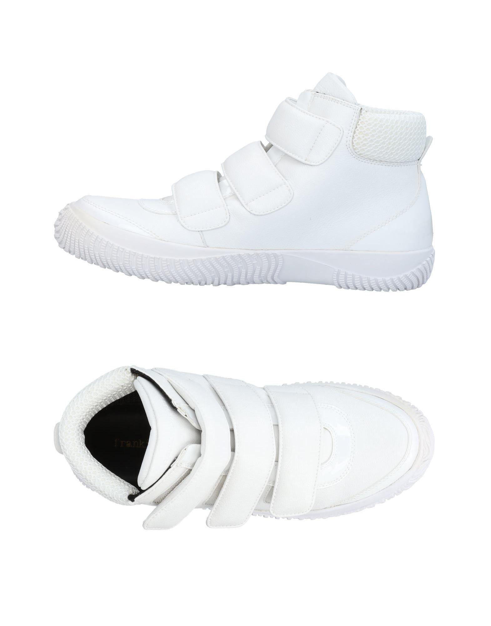 Sneakers Frankie Morello Homme - Sneakers Frankie Morello  Blanc Remise de marque