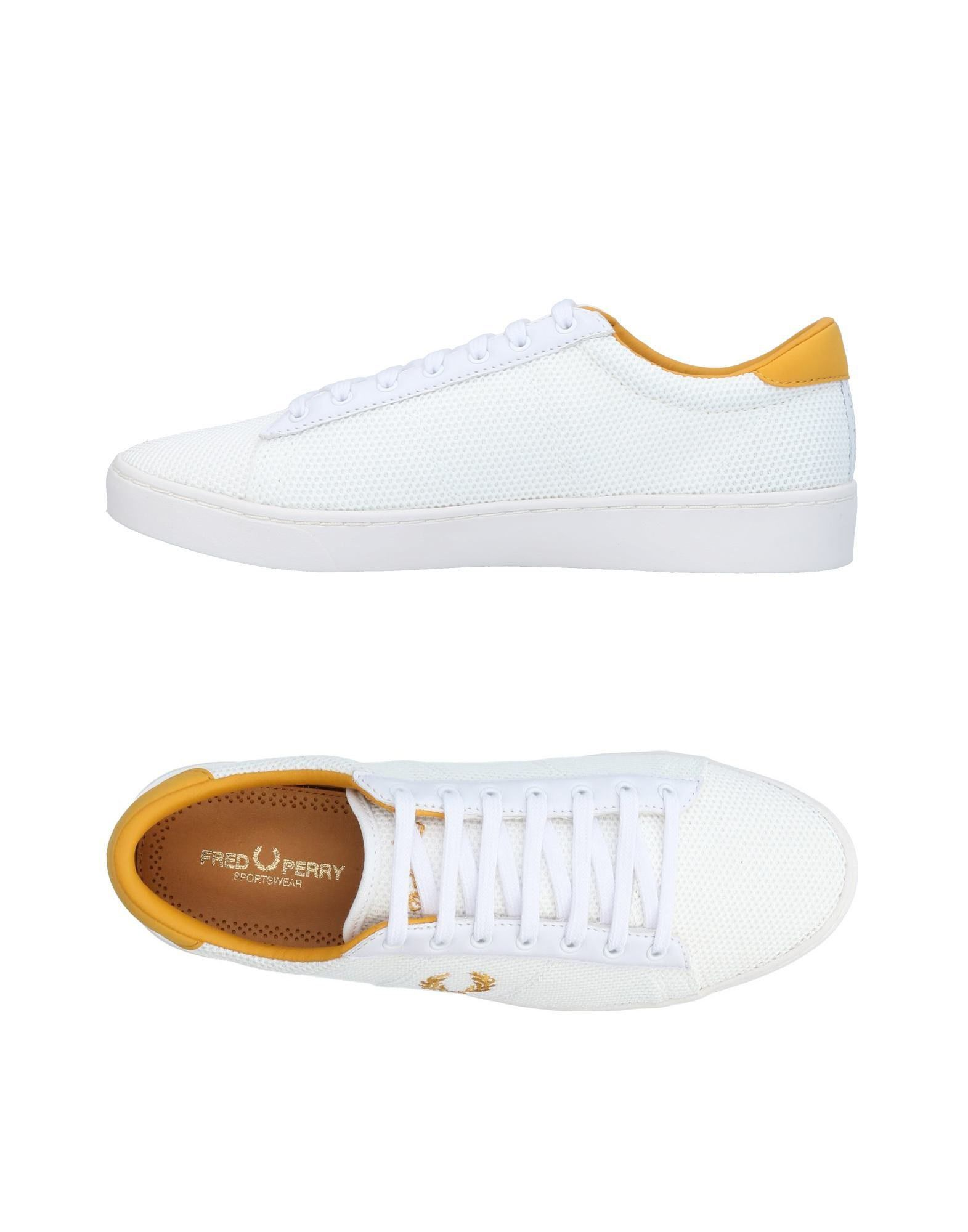 Sneakers Fred Perry Homme - Sneakers Fred Perry  Blanc Spécial temps limité