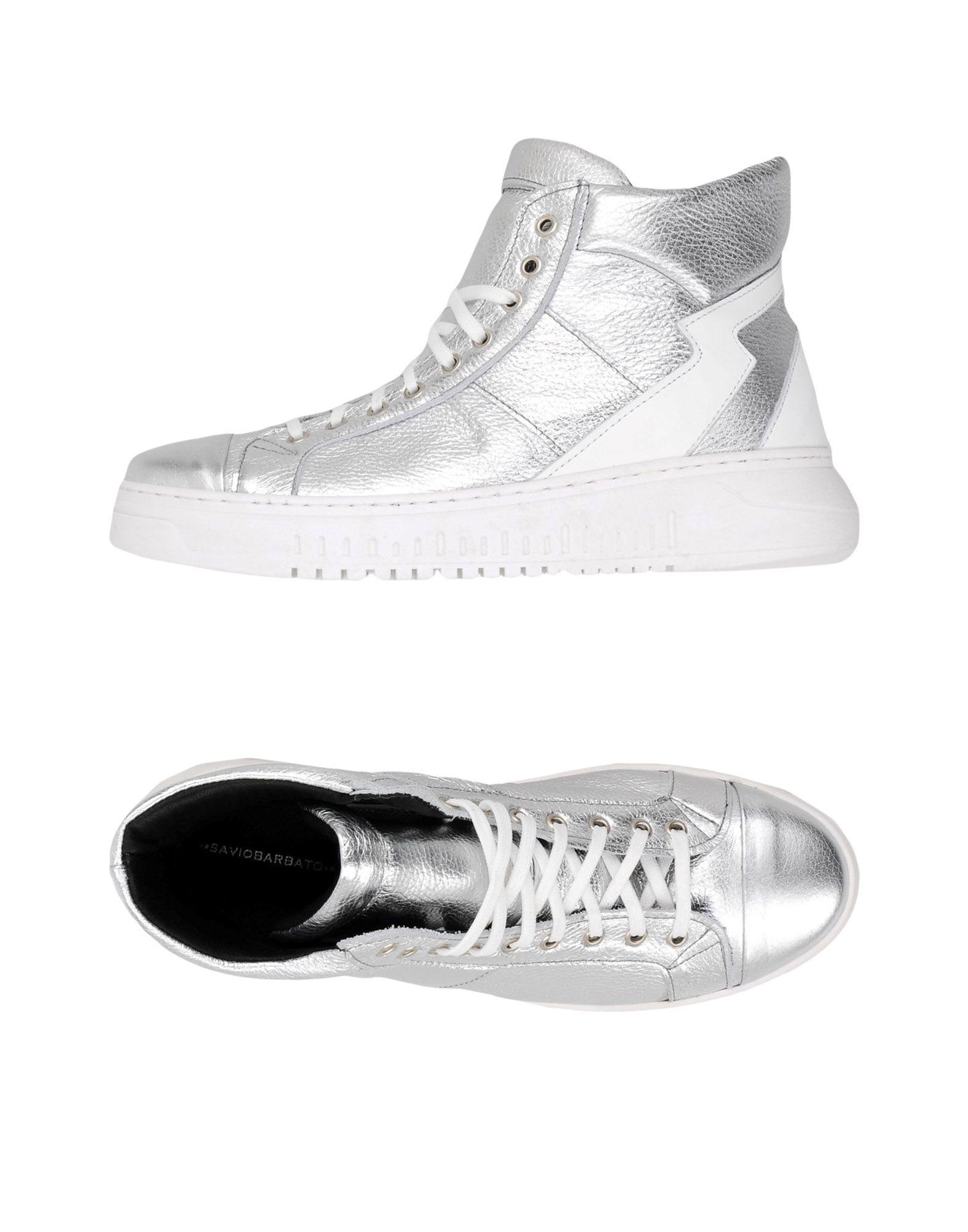 Sneakers Savio Barbato Homme - Sneakers Savio Barbato  Argent Meilleur modèle de vente