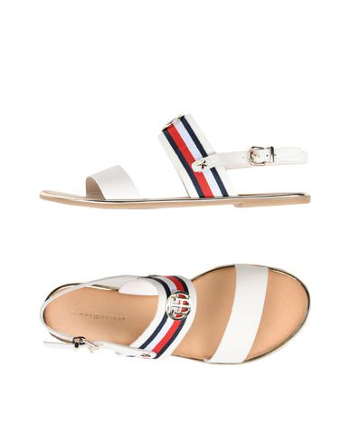 b15d5ea56 Tommy Hilfiger Corporate Ribbon Flat Sandal - Sandals - Women Tommy ...