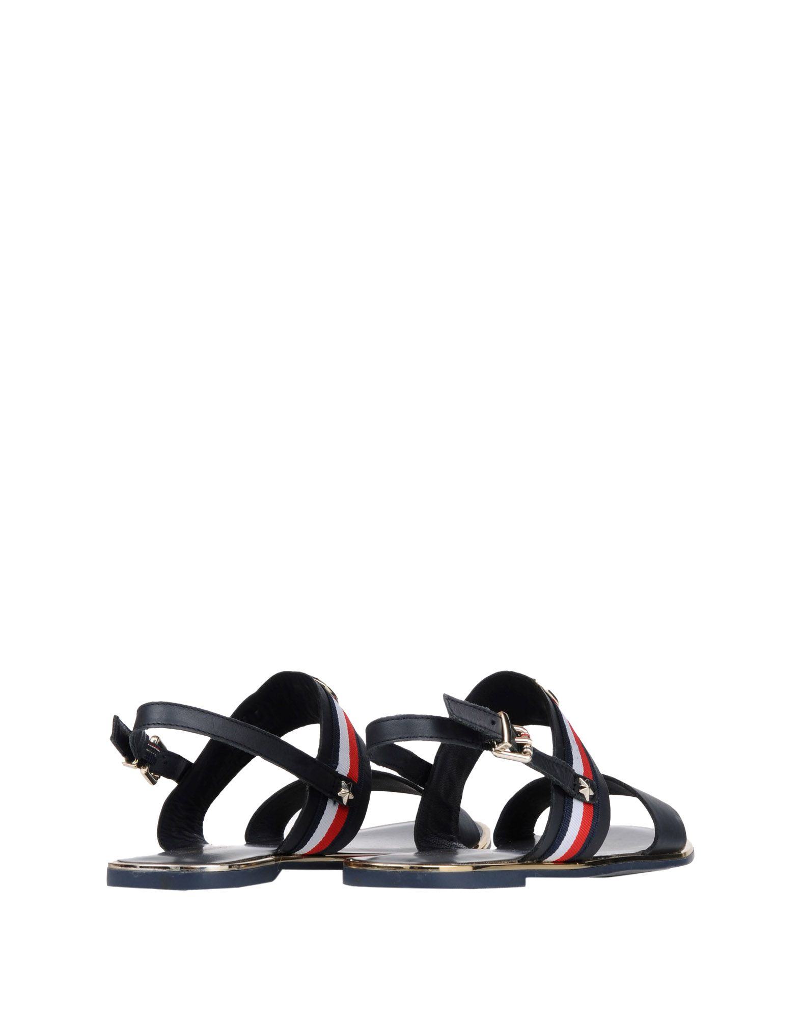 Sandales Tommy Hilfiger Corporate Ribbon Flat Sandal - Femme - Sandales Tommy Hilfiger sur