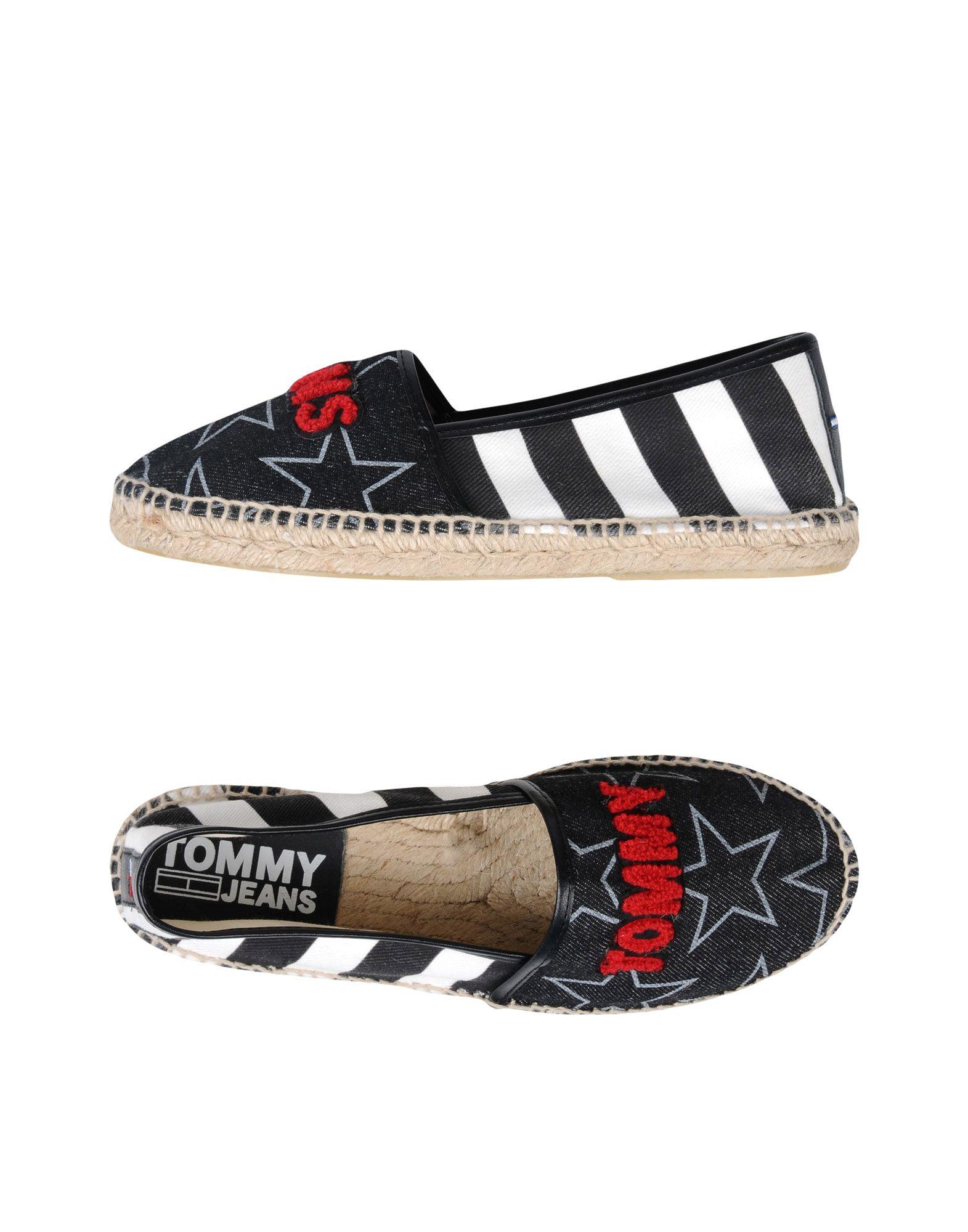 Espadrilles Tommy Jeans Flat Tj Espadrille - Femme - Espadrilles Tommy Jeans sur