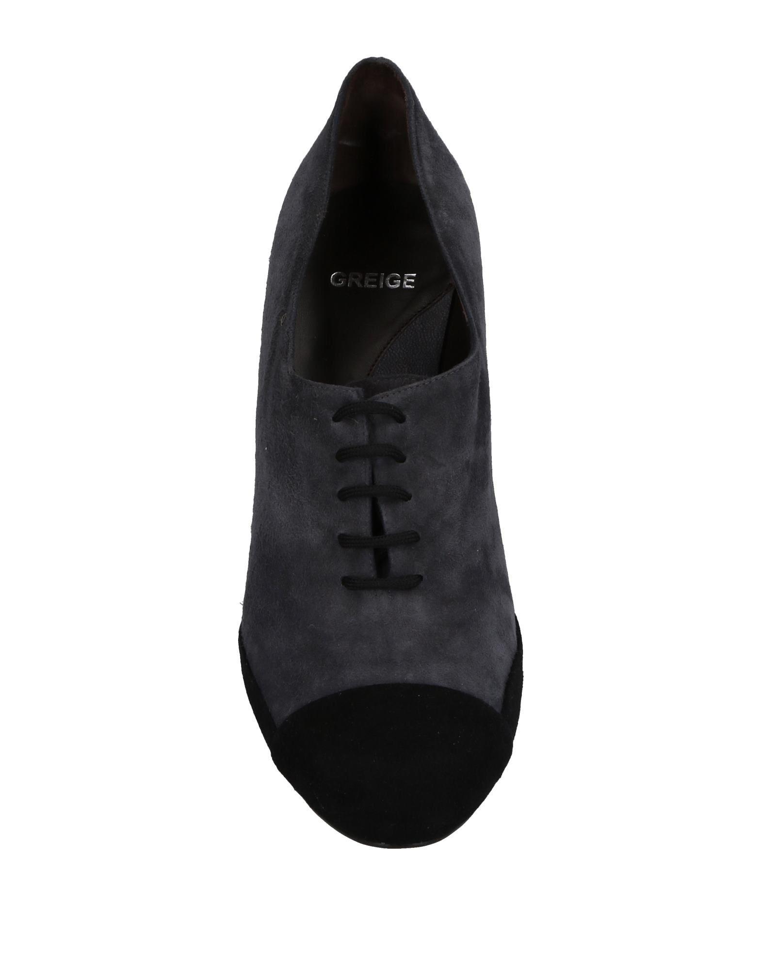 Chaussures À Lacets Greige Femme - Chaussures À Lacets Greige sur